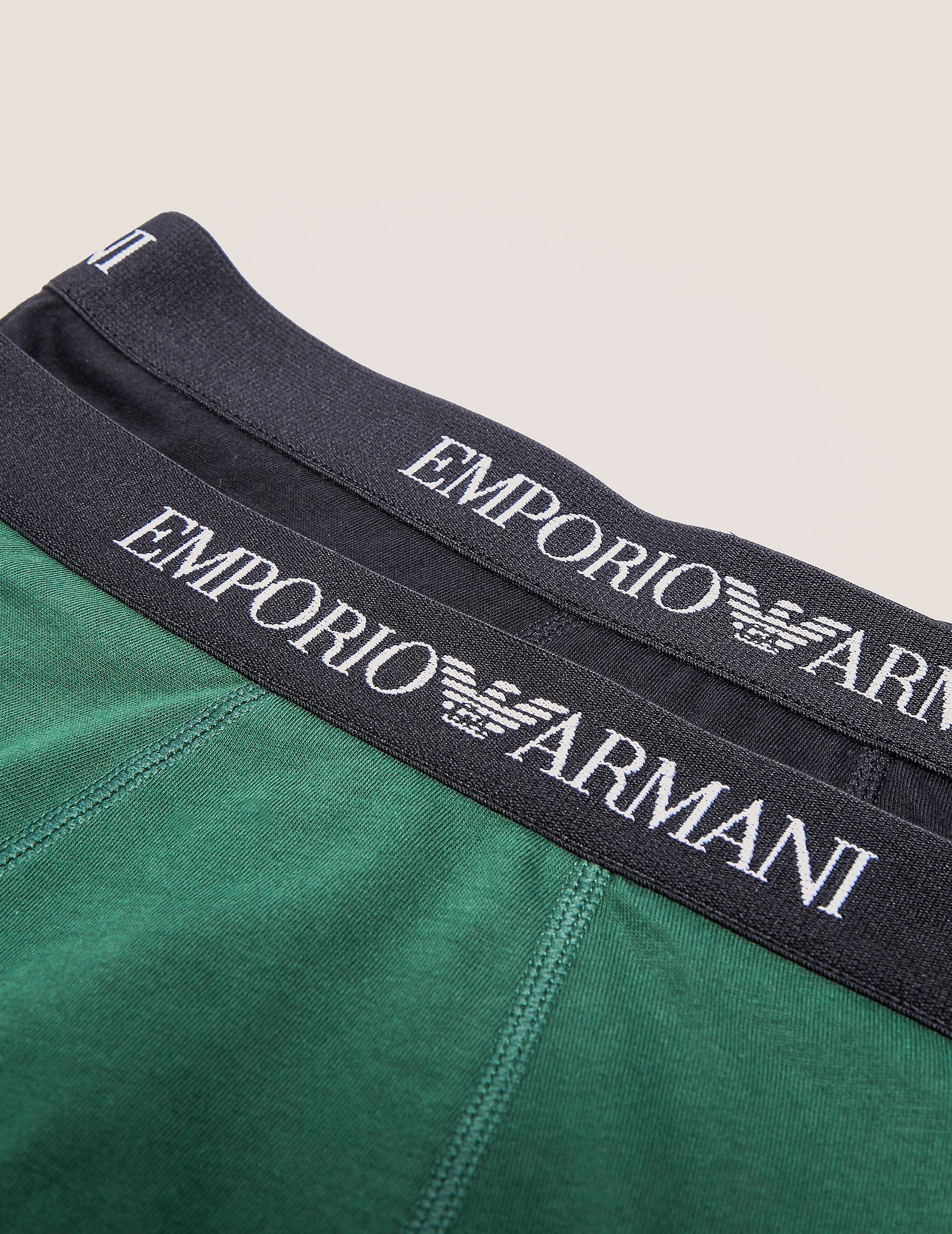 Emporio Armani 2 Pack Trunks