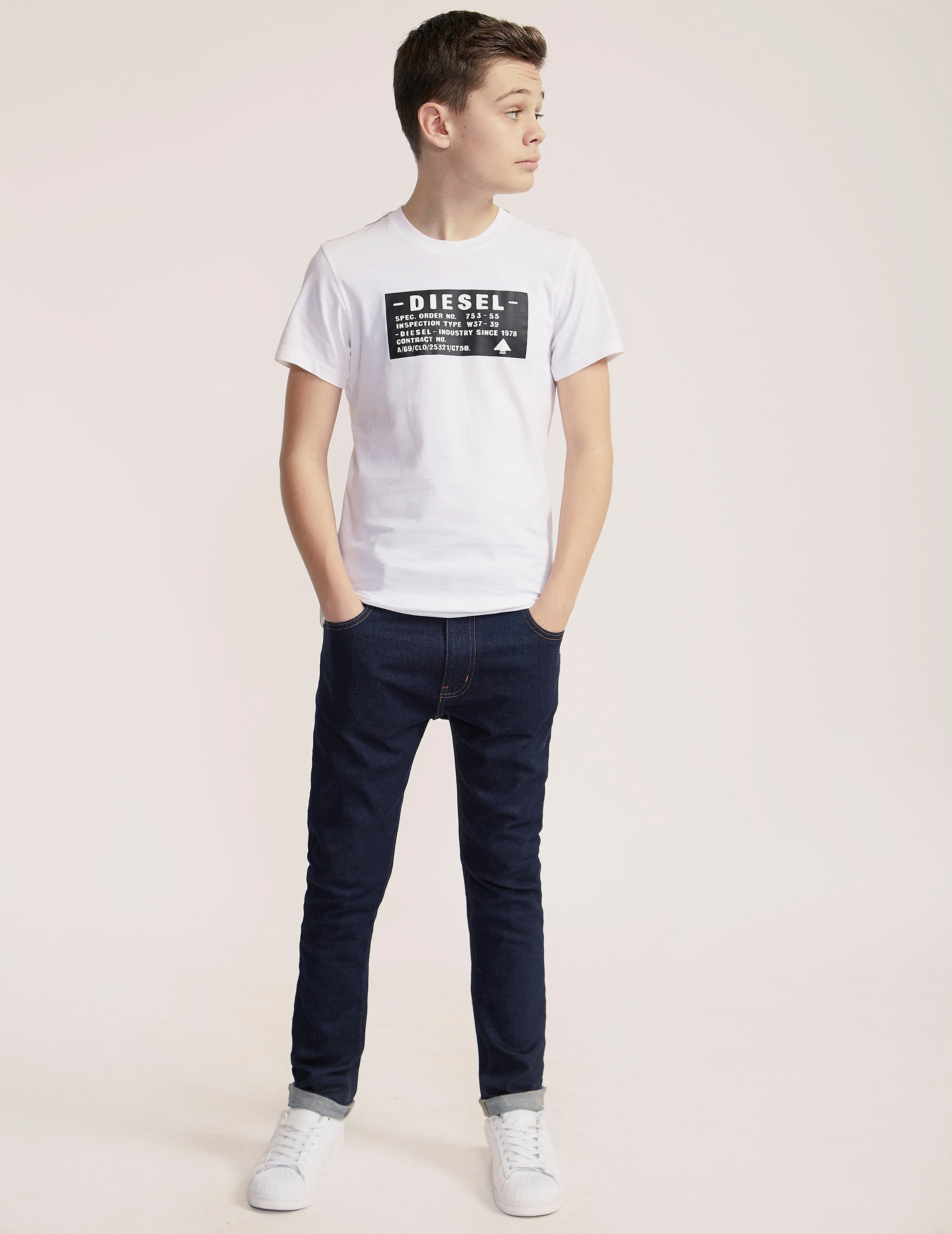 Diesel Graphic Logo T-Shirt