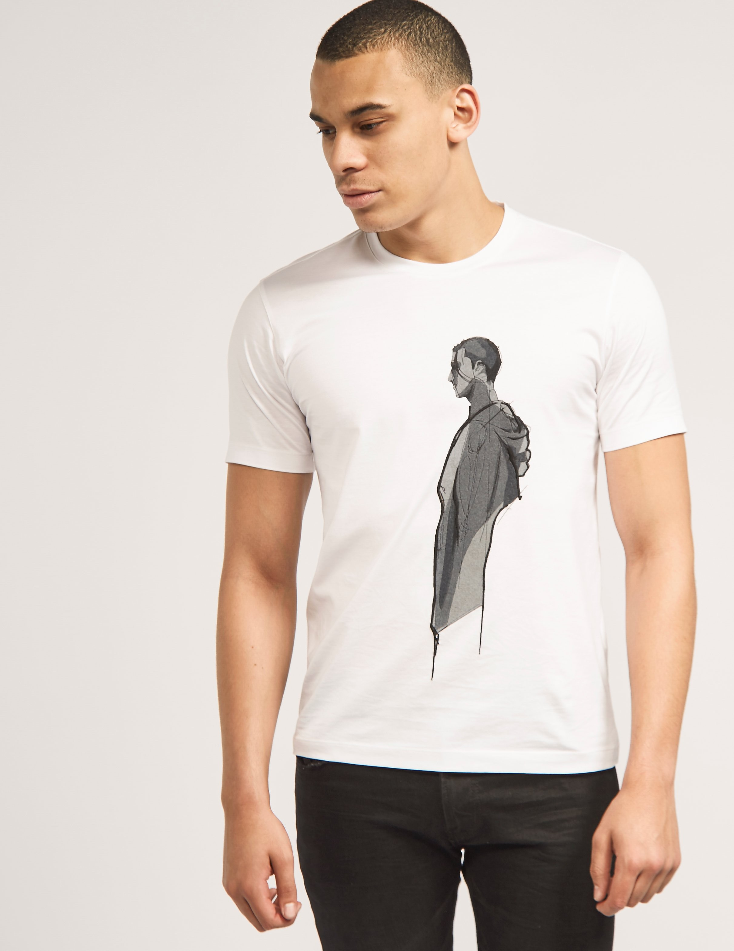 Z Zegna Man Print T-Shirt