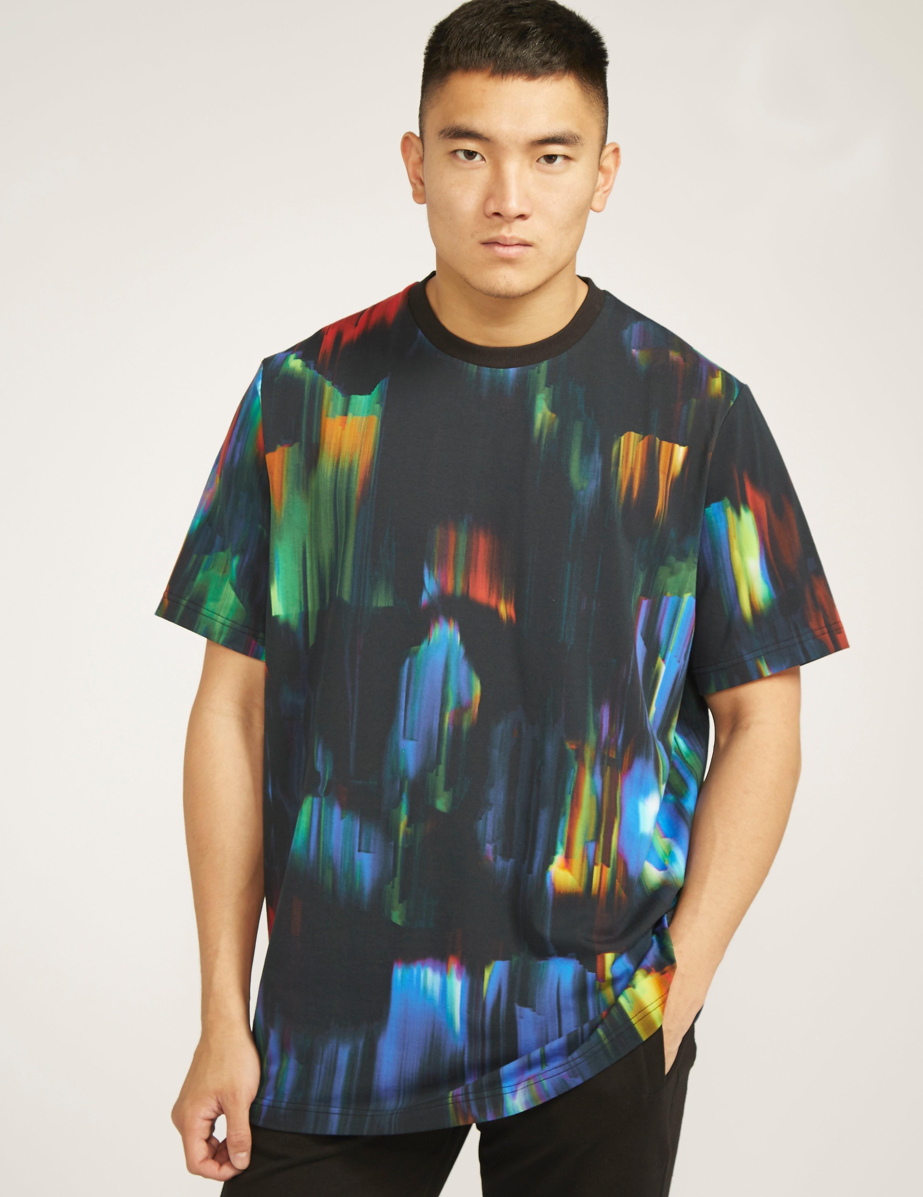 Y-3 Y3 Rainbow Drip T-Shirt