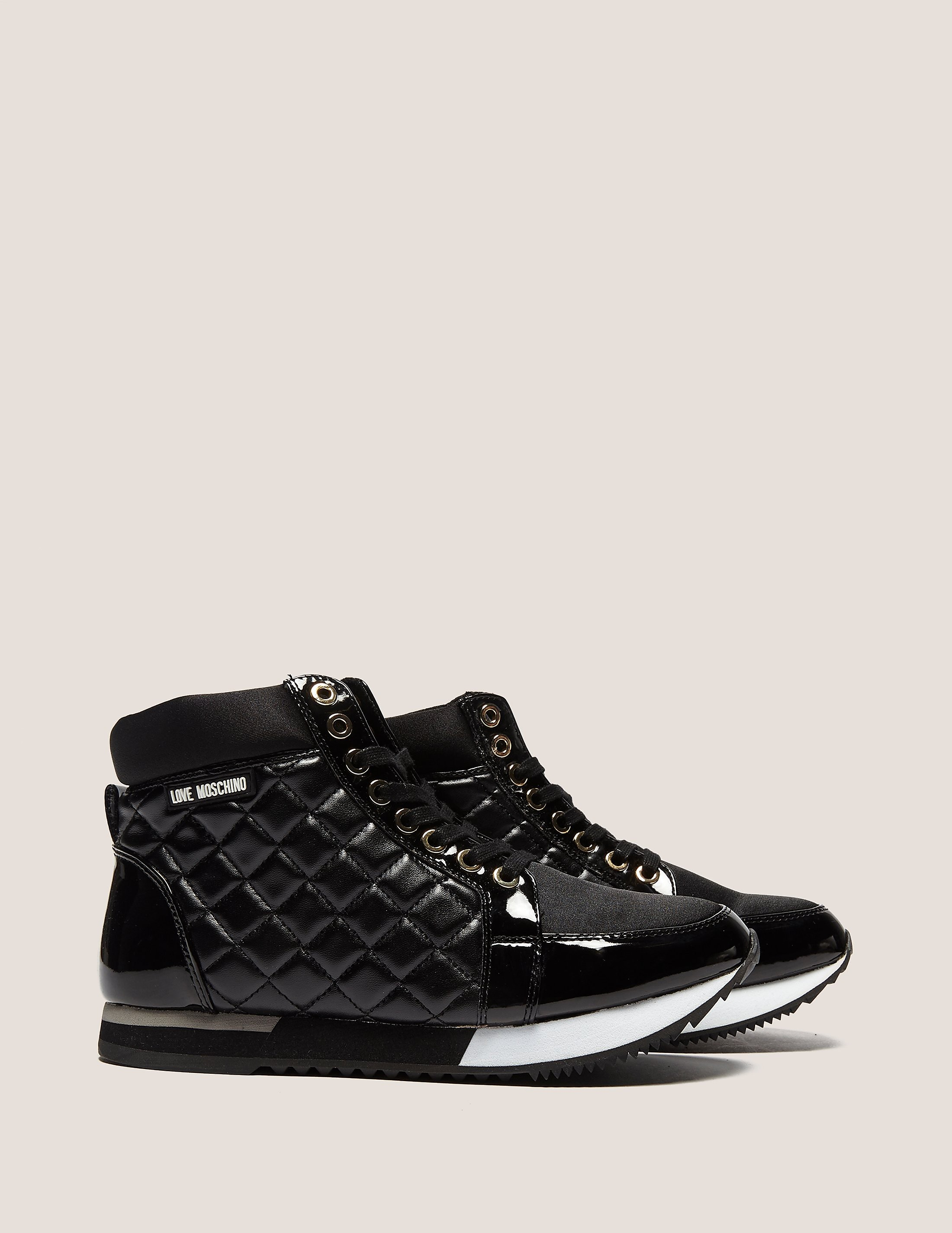 Love Moschino Qulited High Top
