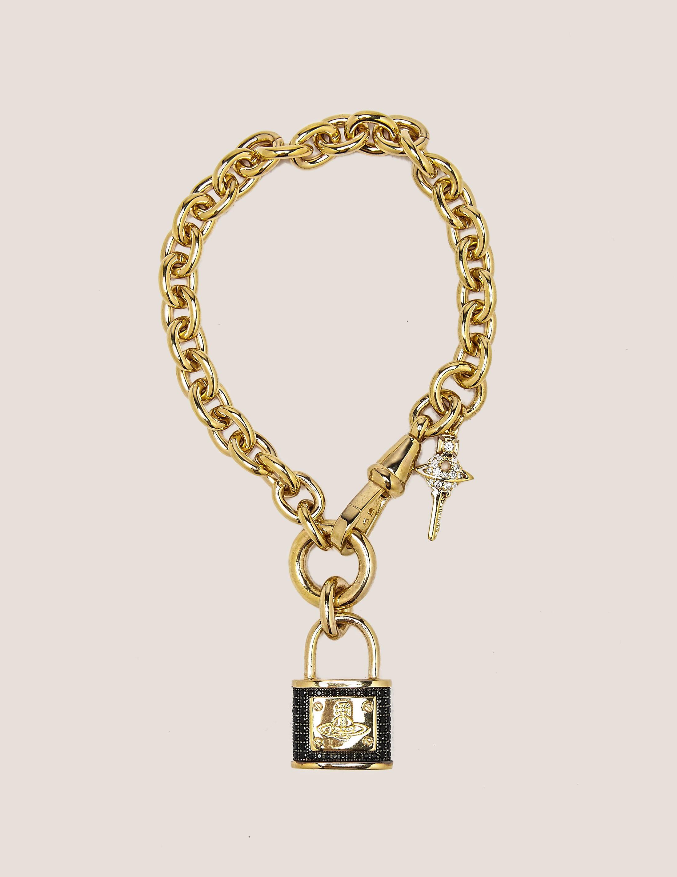 Vivienne Westwood Darianne Orb Lock Bracelt