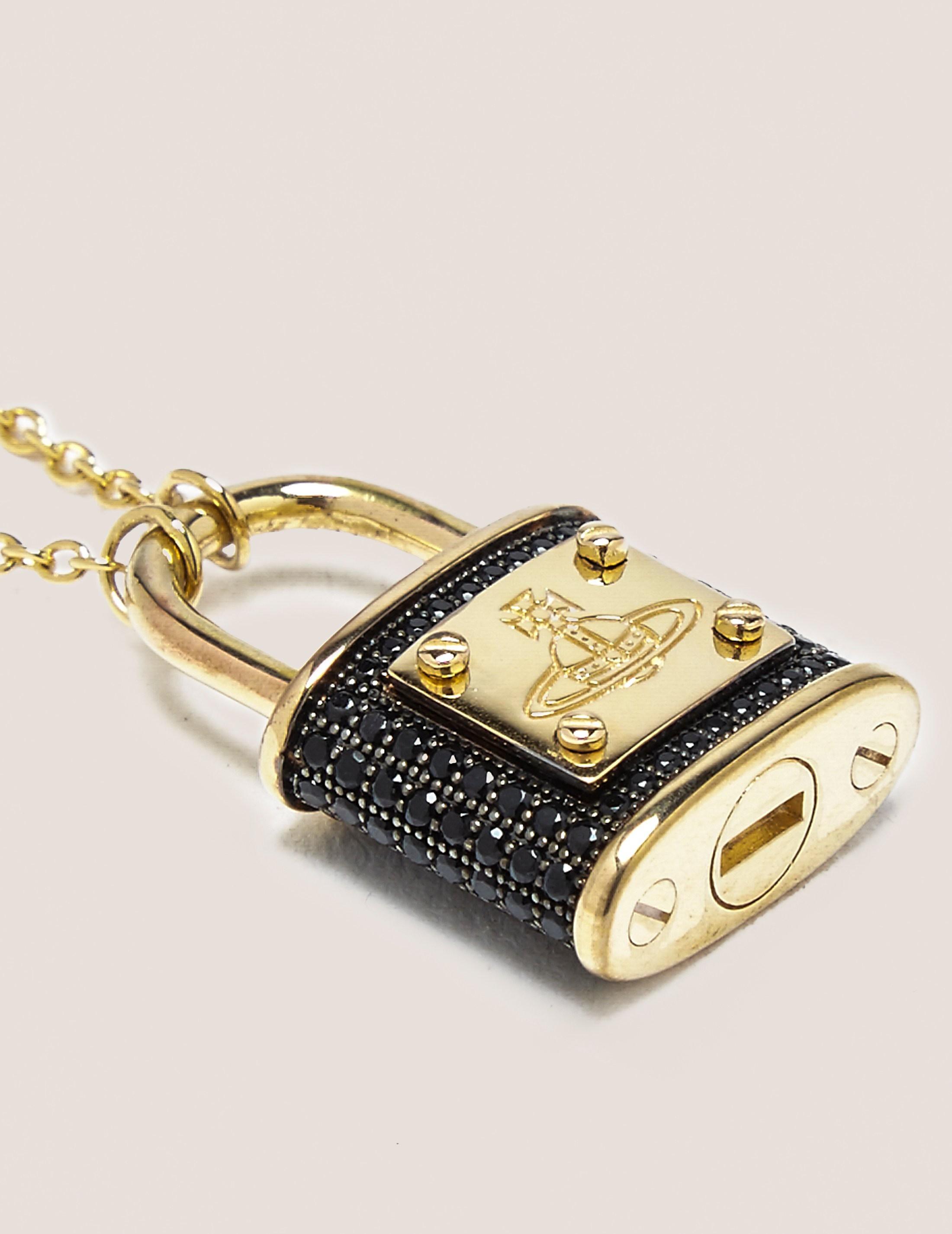 Vivienne Westwood Darianne Orb Lock Necklace