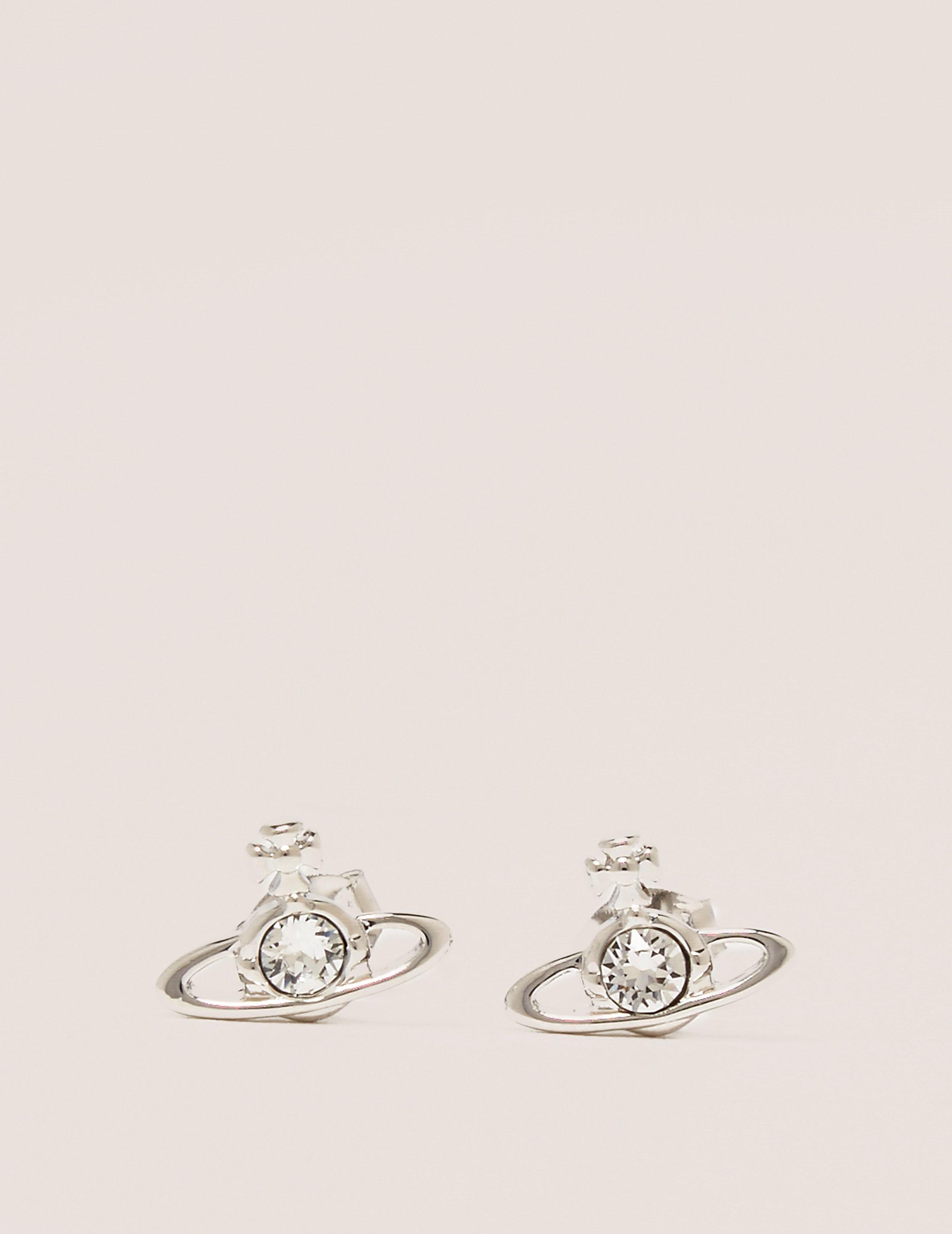Vivienne Westwood Nano Solitare Earrings