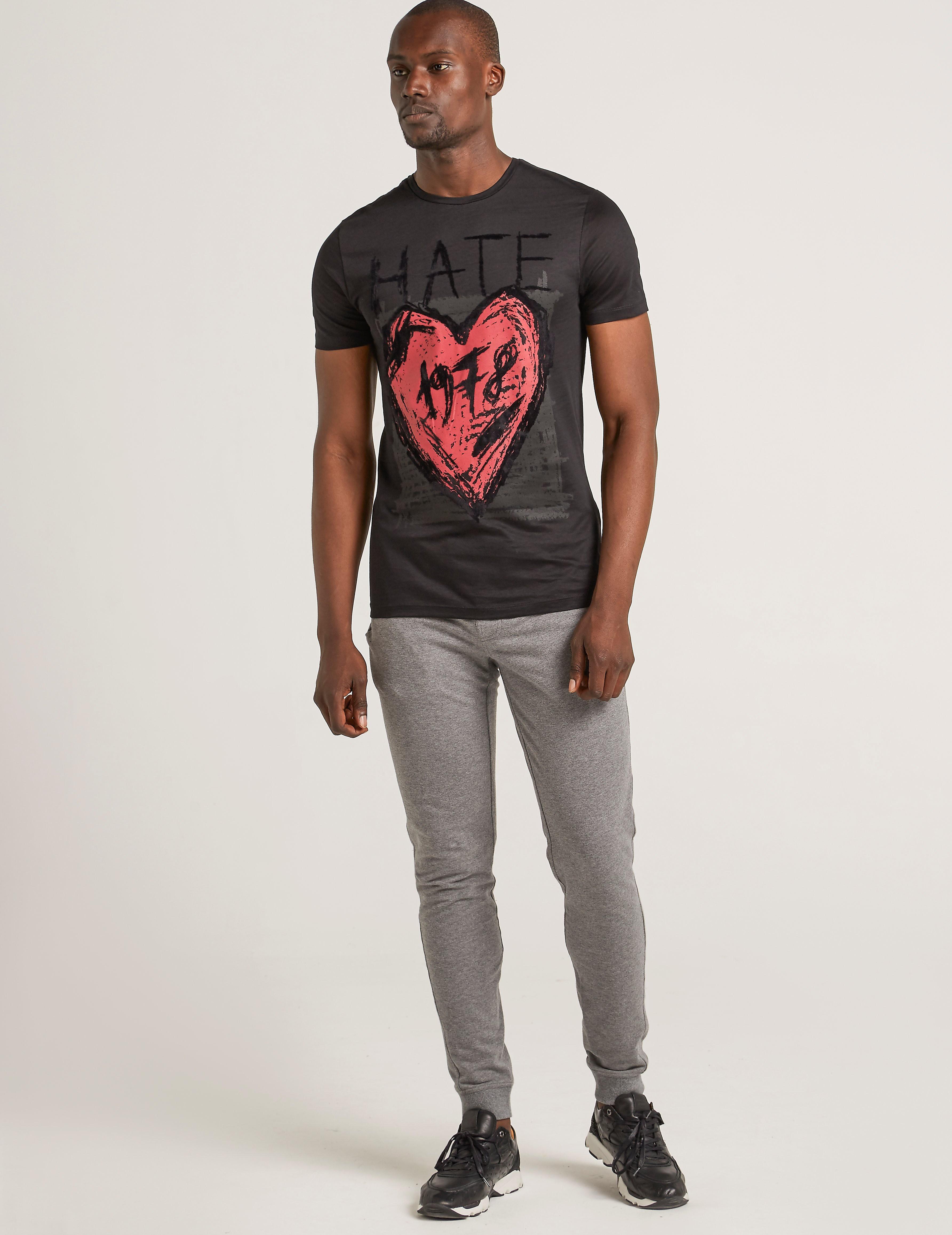 Antony Morato Black Hate T-Shirt