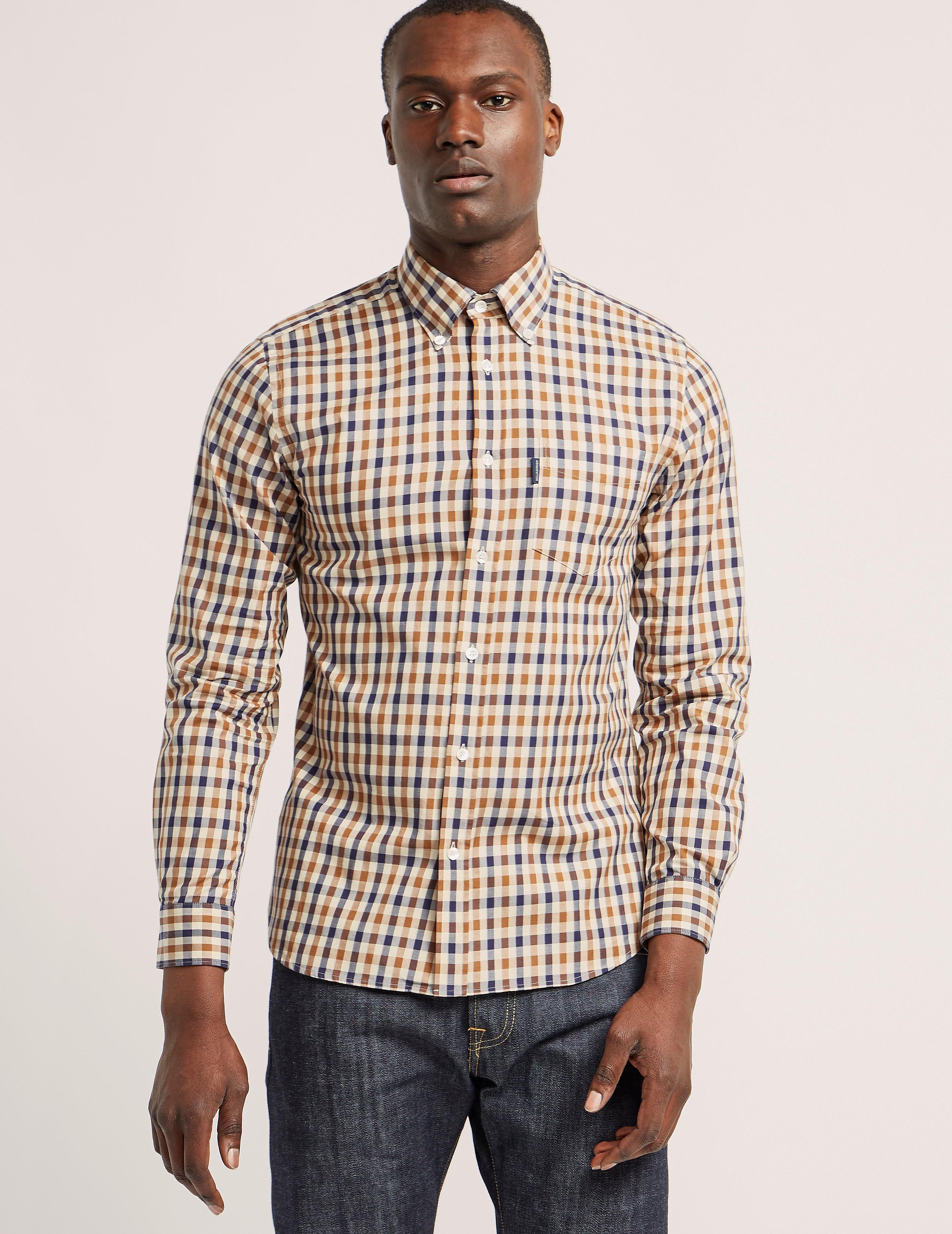 Aquascutum Emsworth Checked Shirt