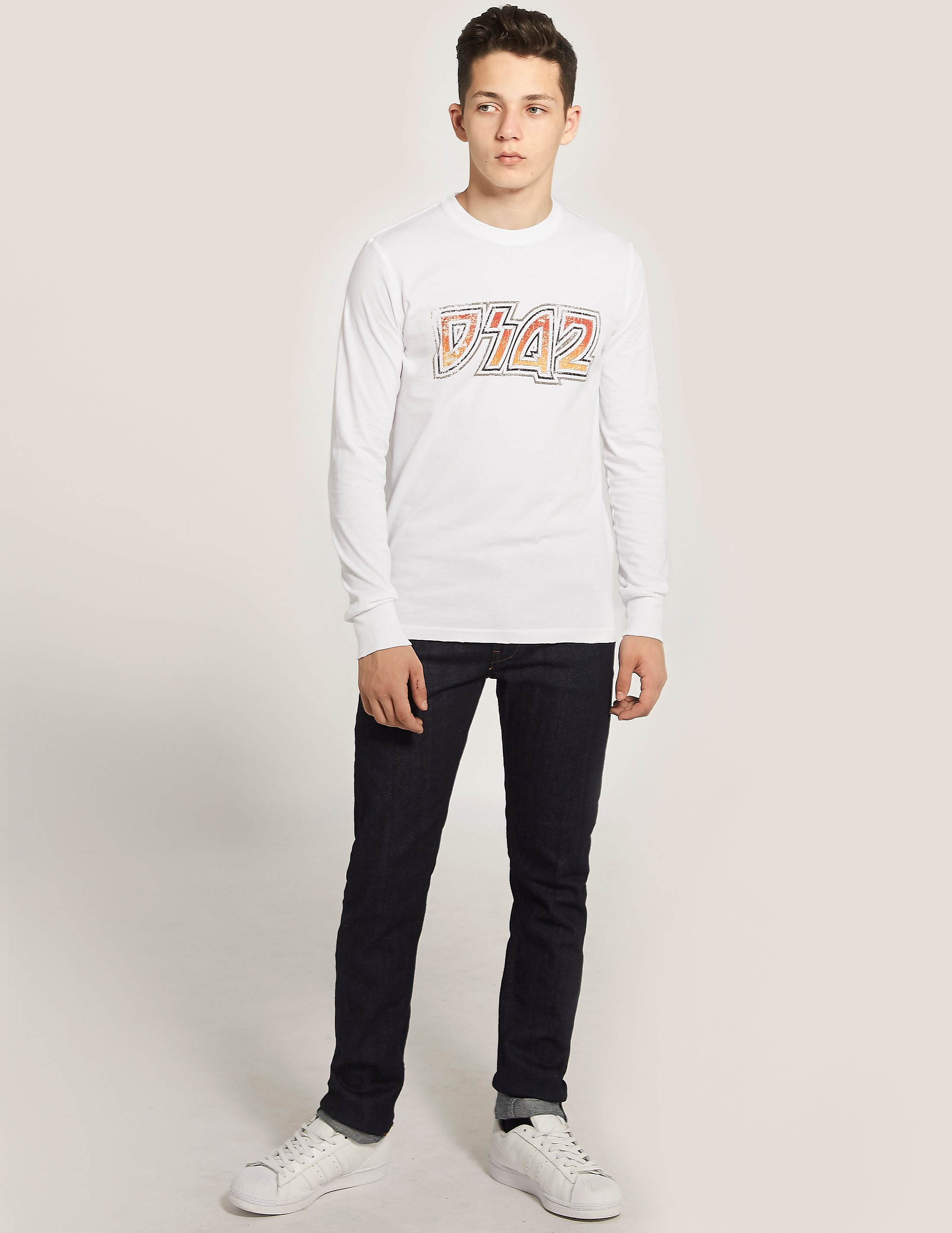 Dsquared D2K ACDC Long Sleeve T-Shirt