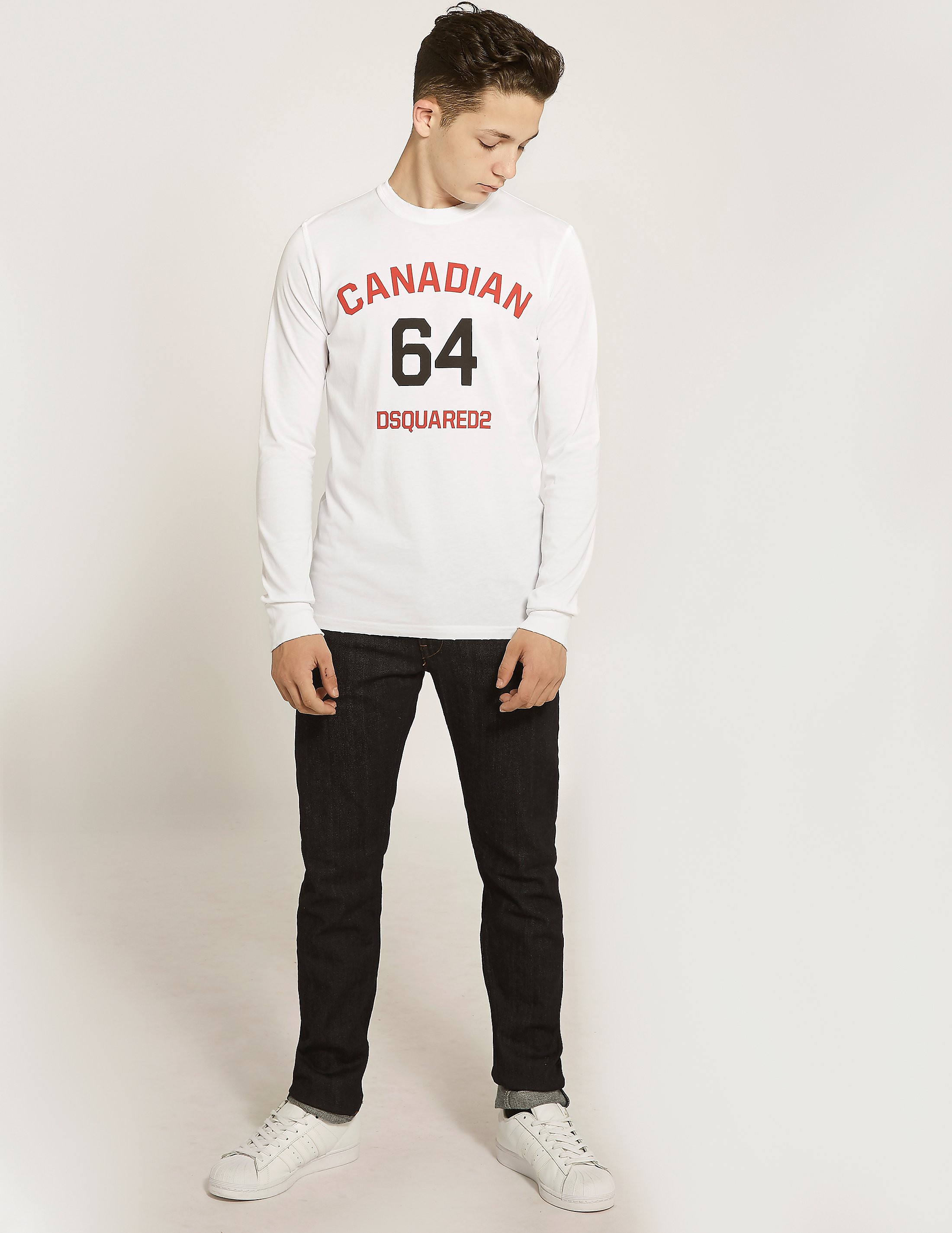 Dsquared Kids' D2K Canadian Long Sleeved T-Shirt