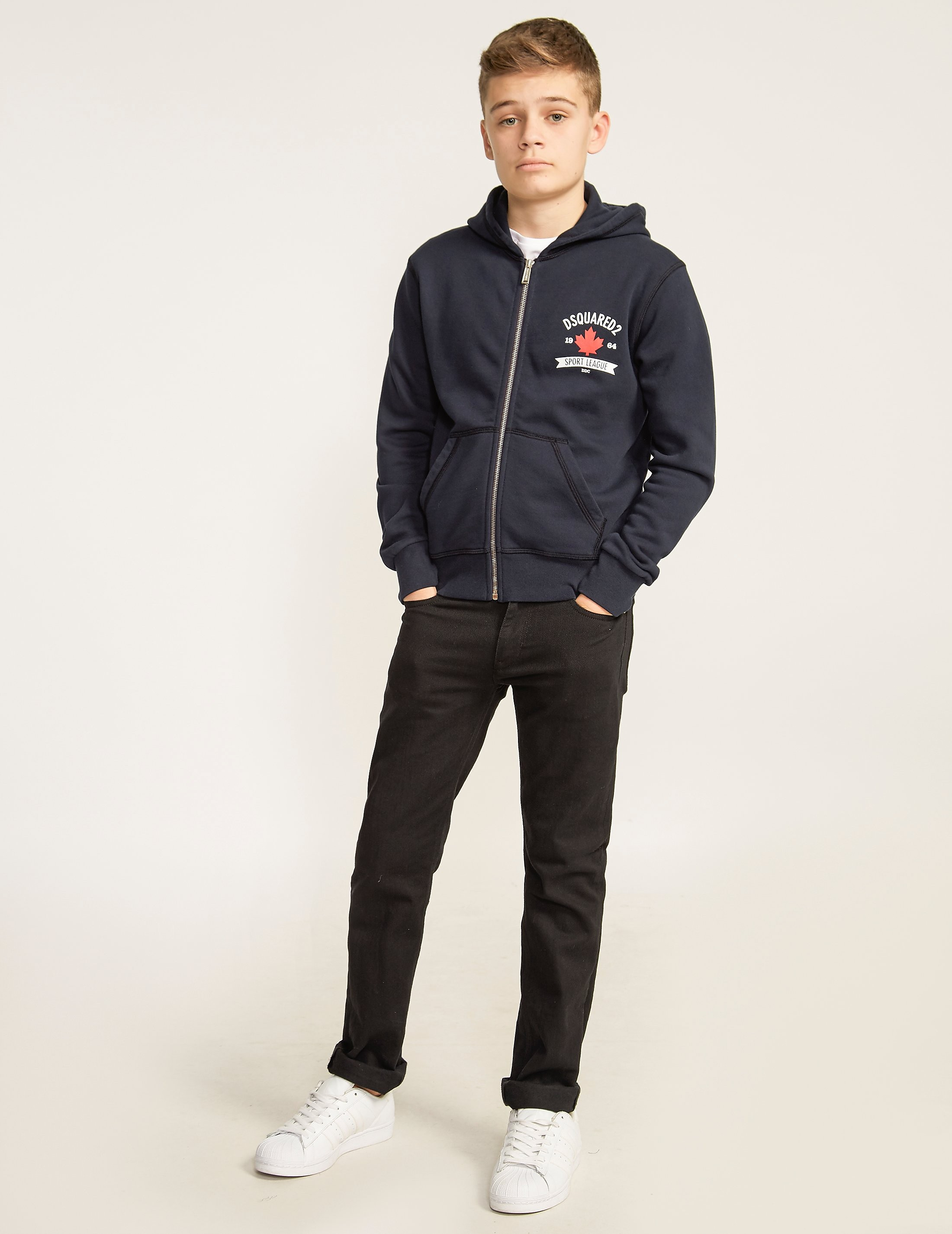 Dsquared Maple Zip Through Hoodie