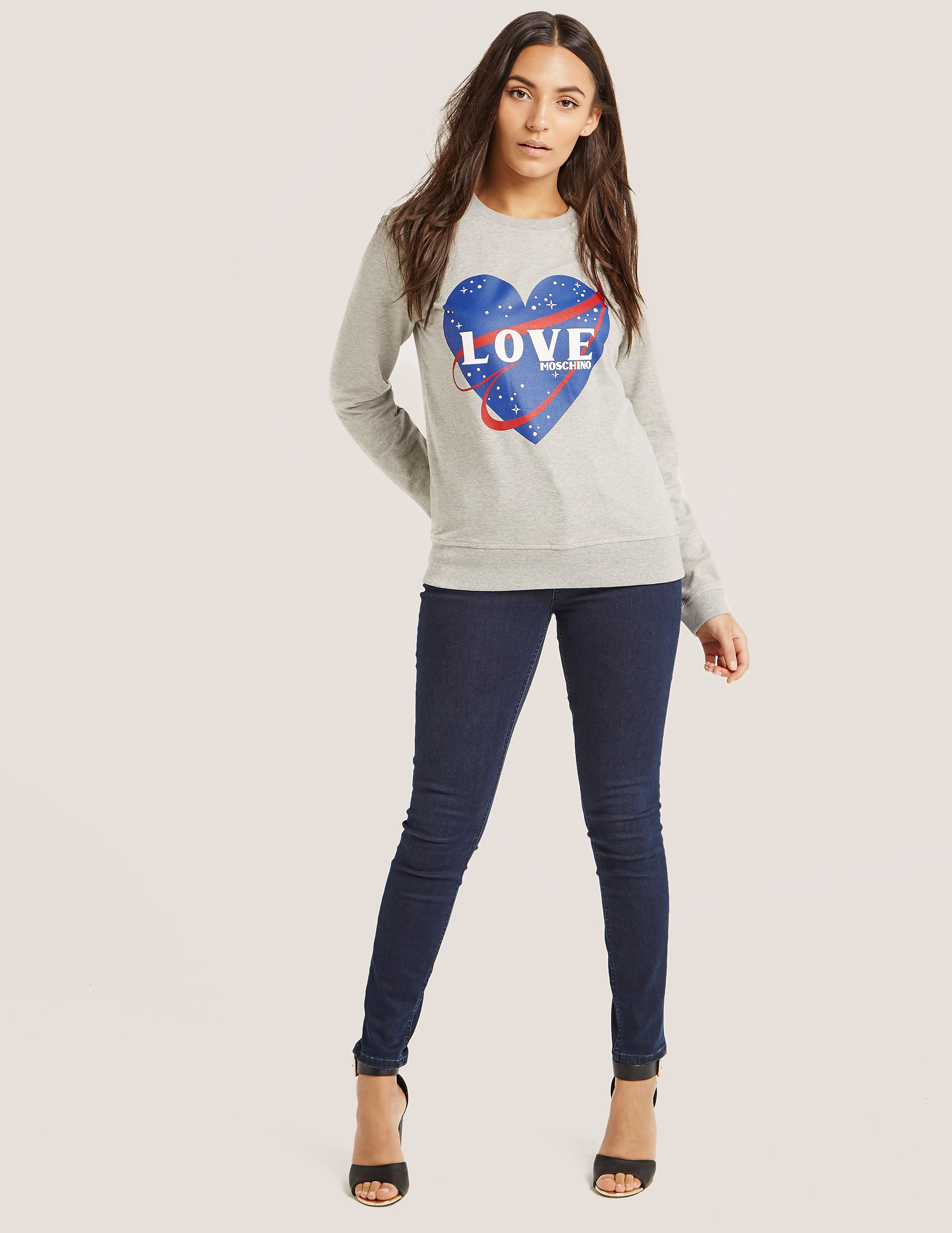 Love Moschino Love Heart Sweatshirt