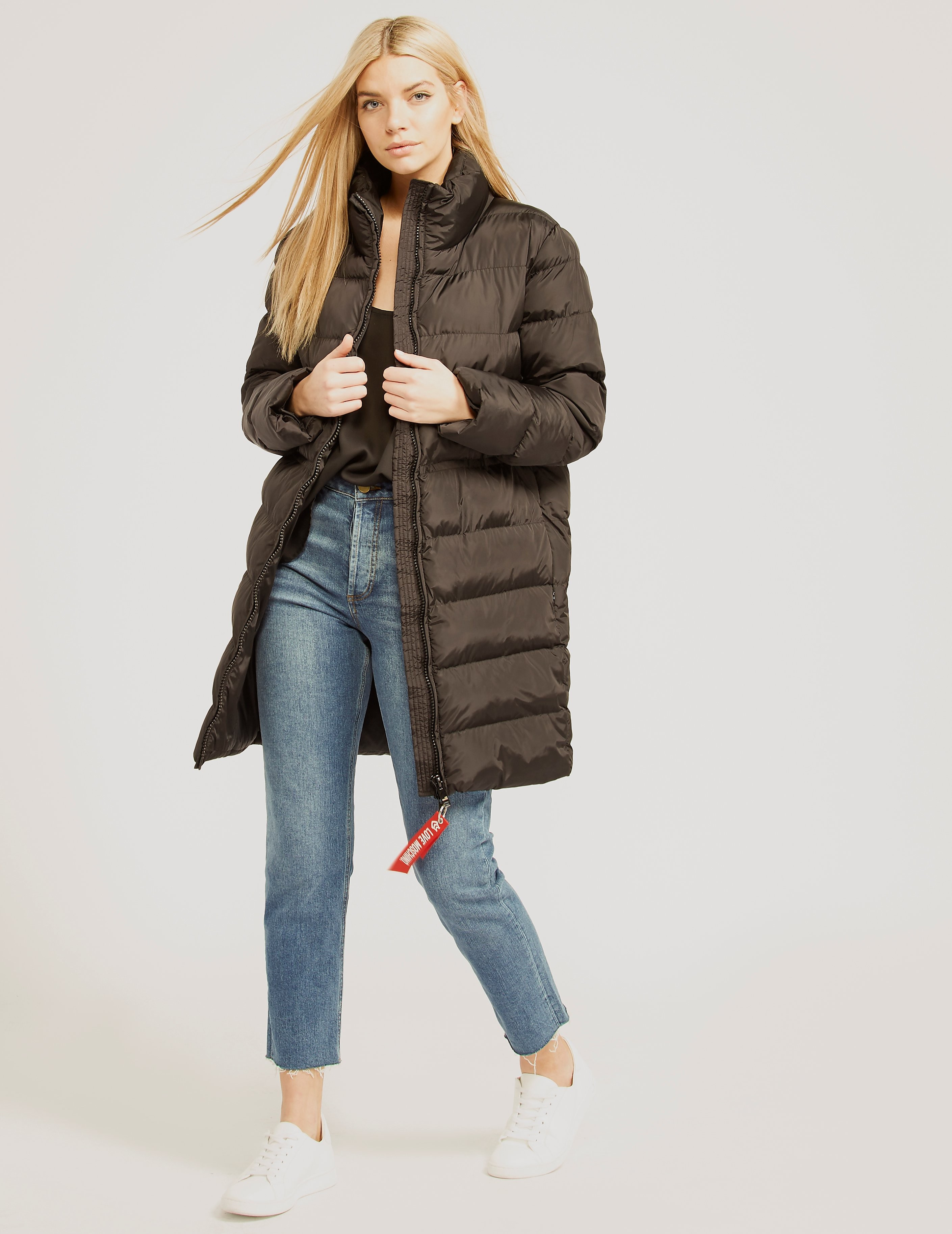 Love Moschino Long Bubble Jacket