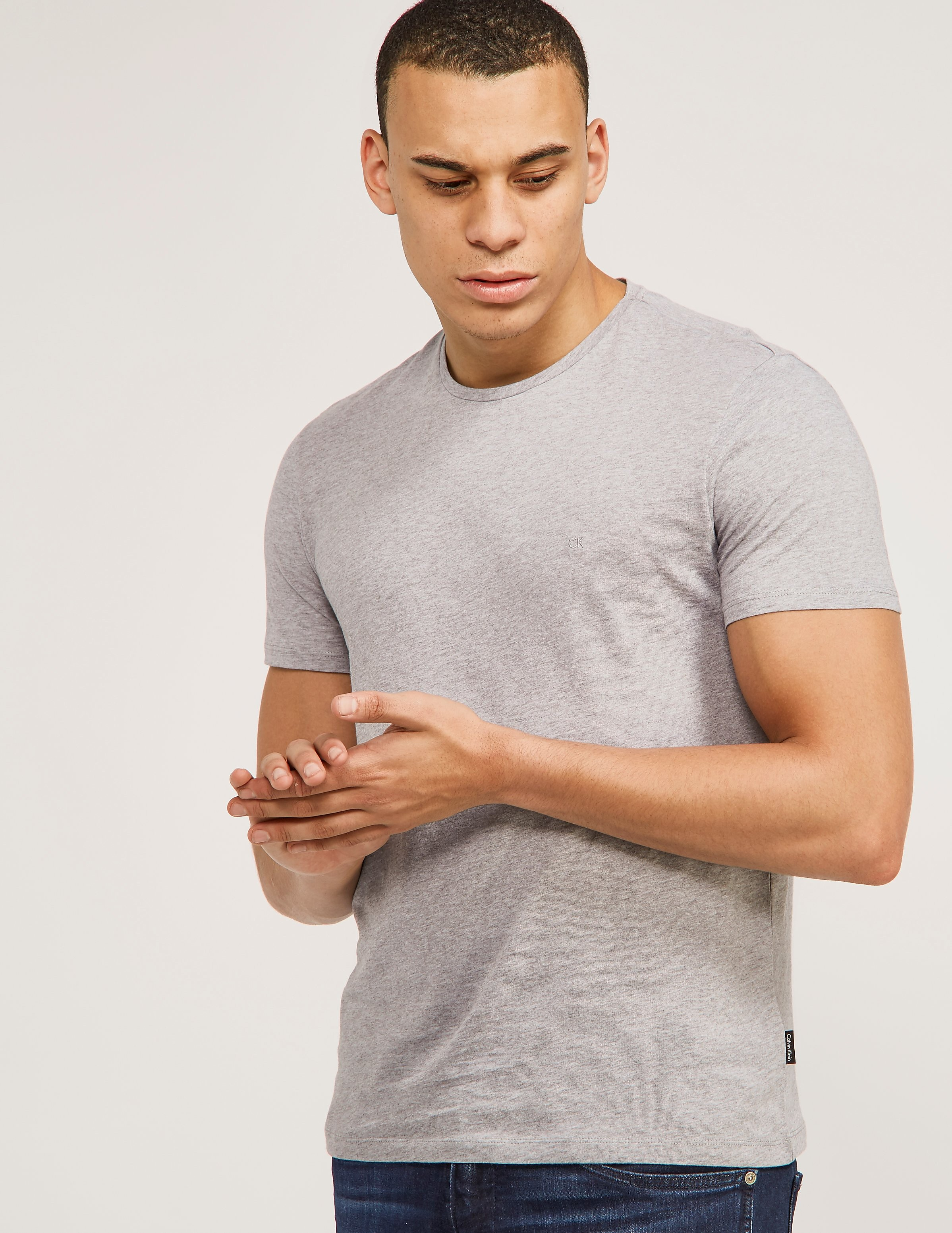 Calvin Klein Mercerised Short Sleeve T-Shirt