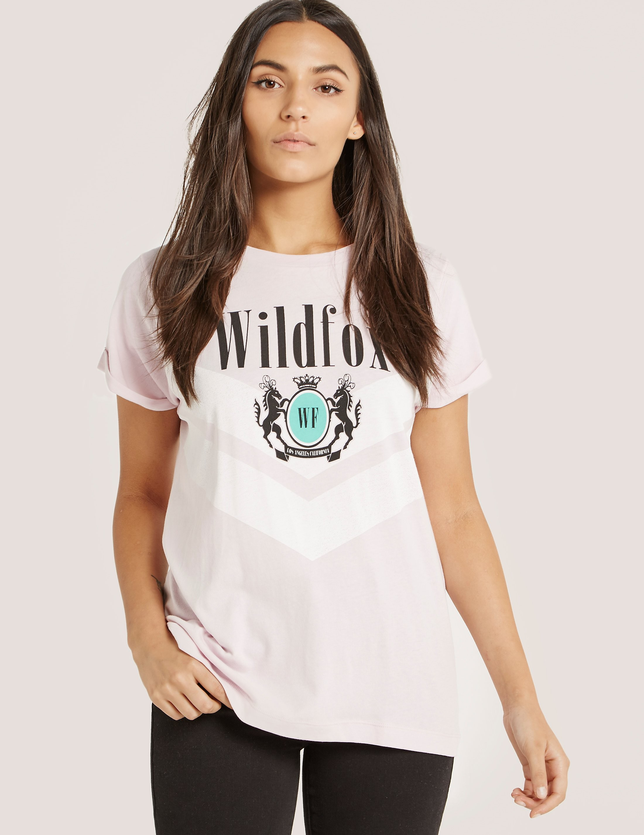 Wildfox Academy Heights Crew Short Sleeve T-Shirt