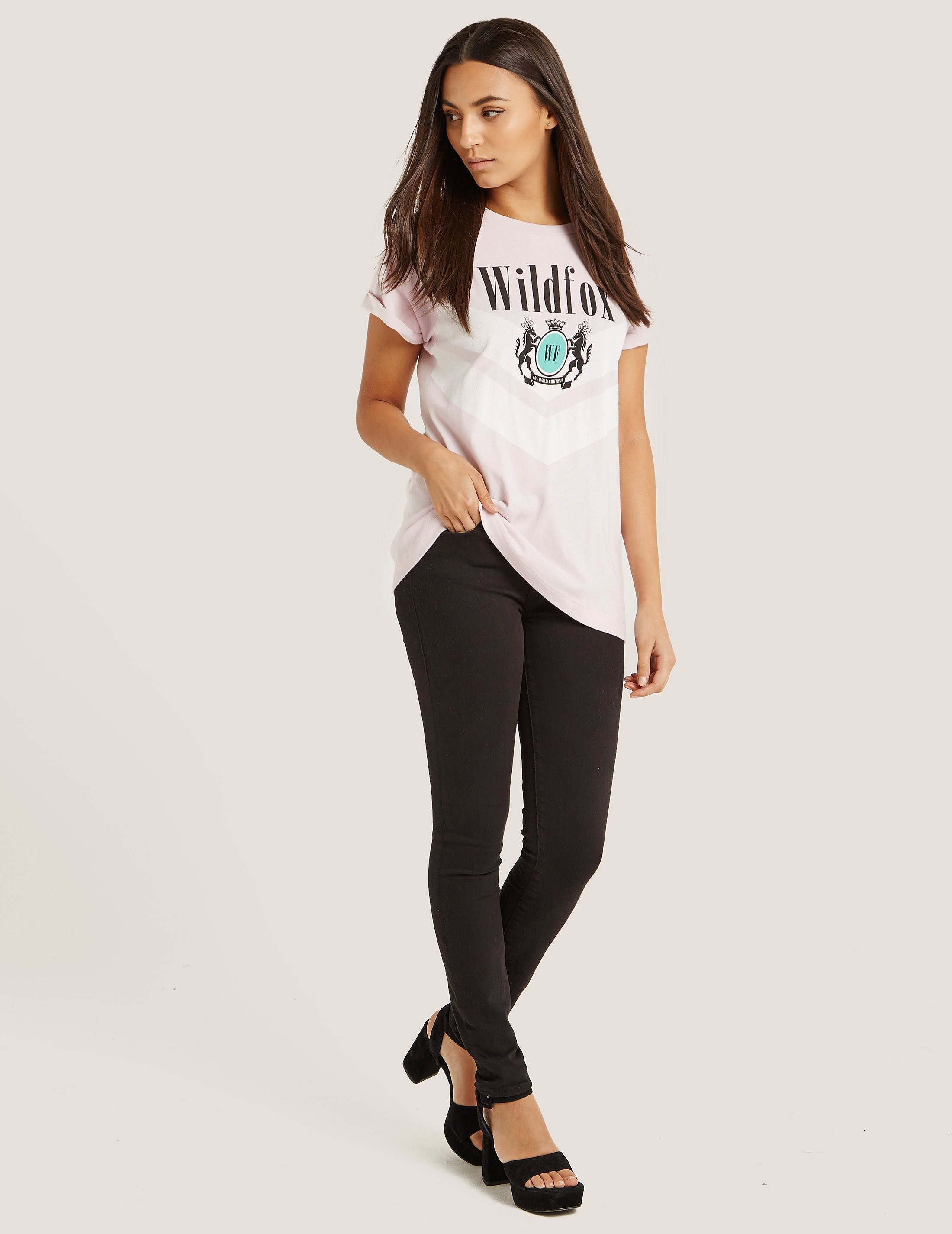 Wildfox Academy Heights Crew T-Shirt