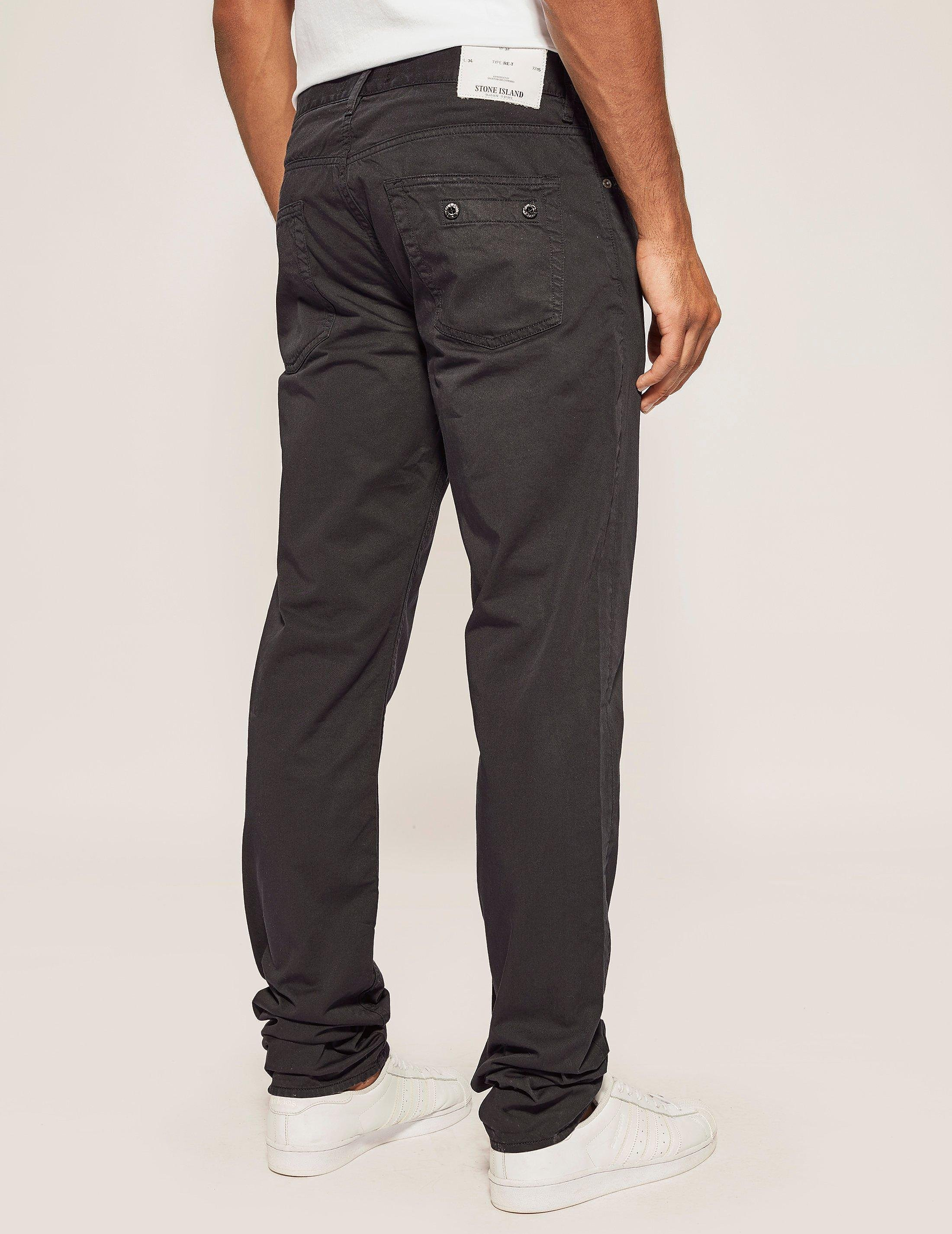 Stone Island Regular Tapered Gaberdine Jean