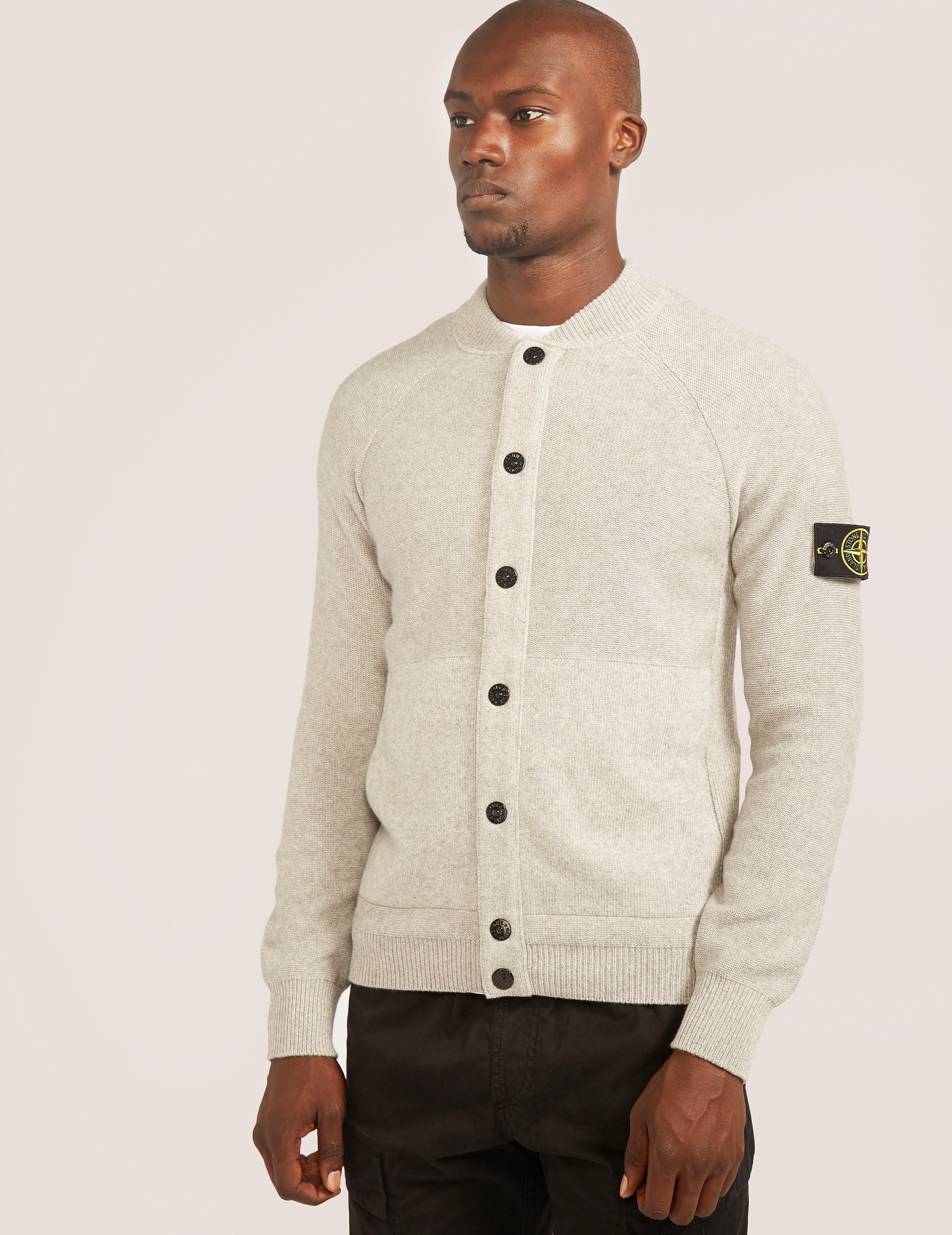 Stone Island Cashmere Button Knit