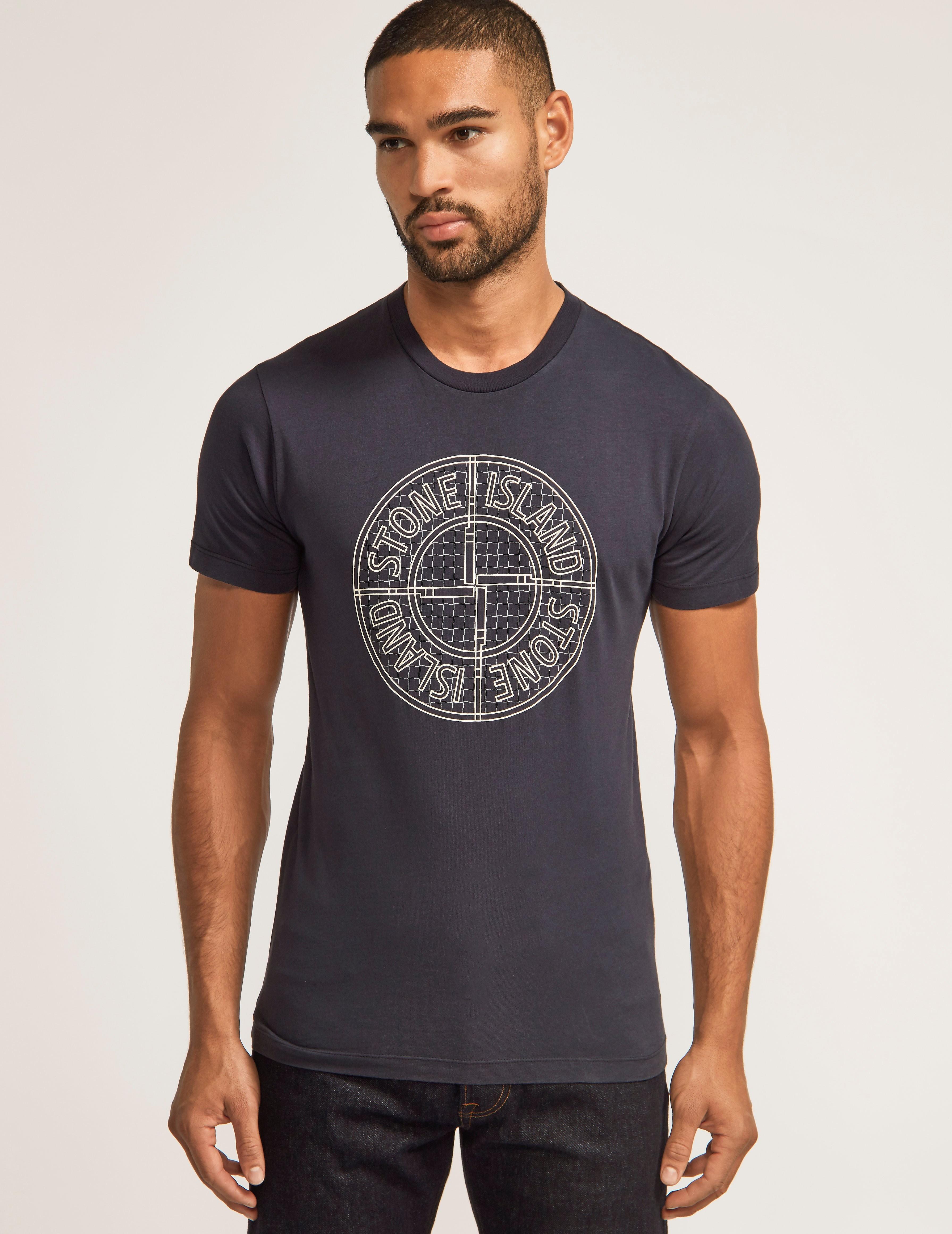 Stone Island Check Pin T-Shirt