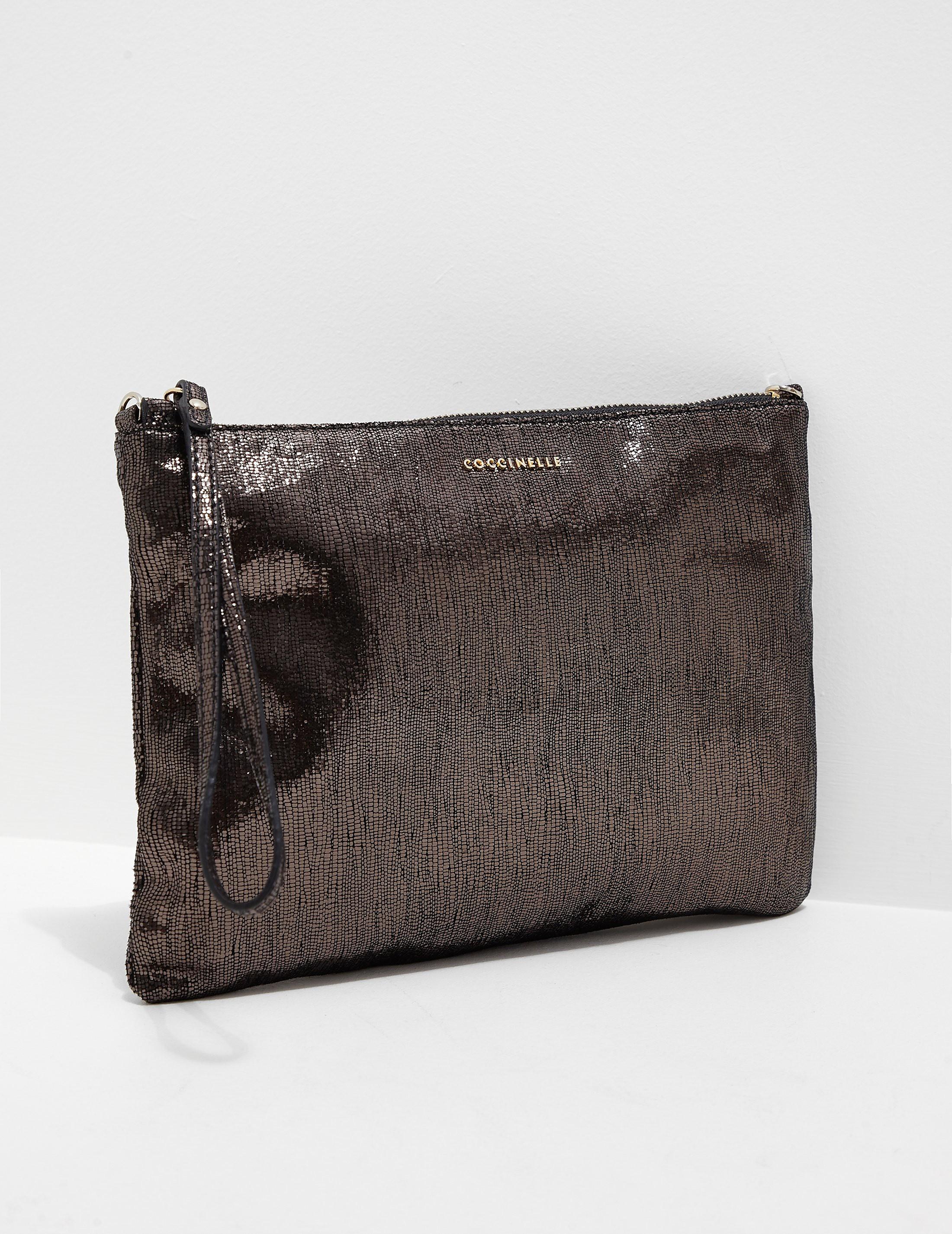 Coccinelle Glitter Clutch Bag