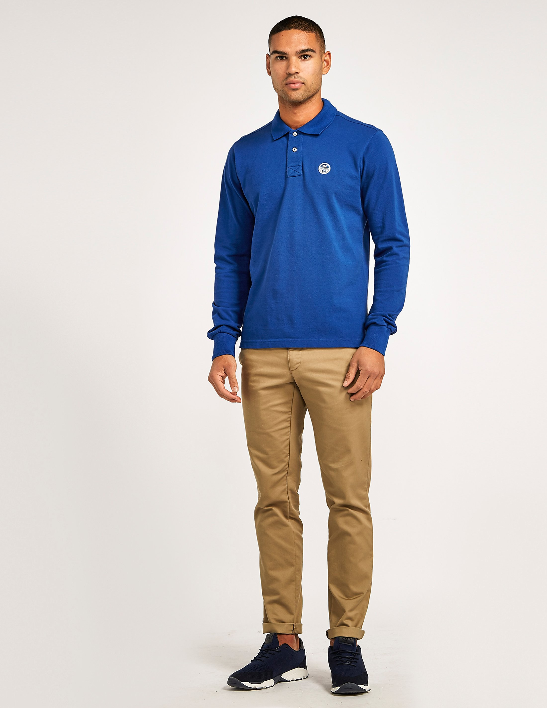 NORTH SAILS Piere Long Sleeve Polo Shirt