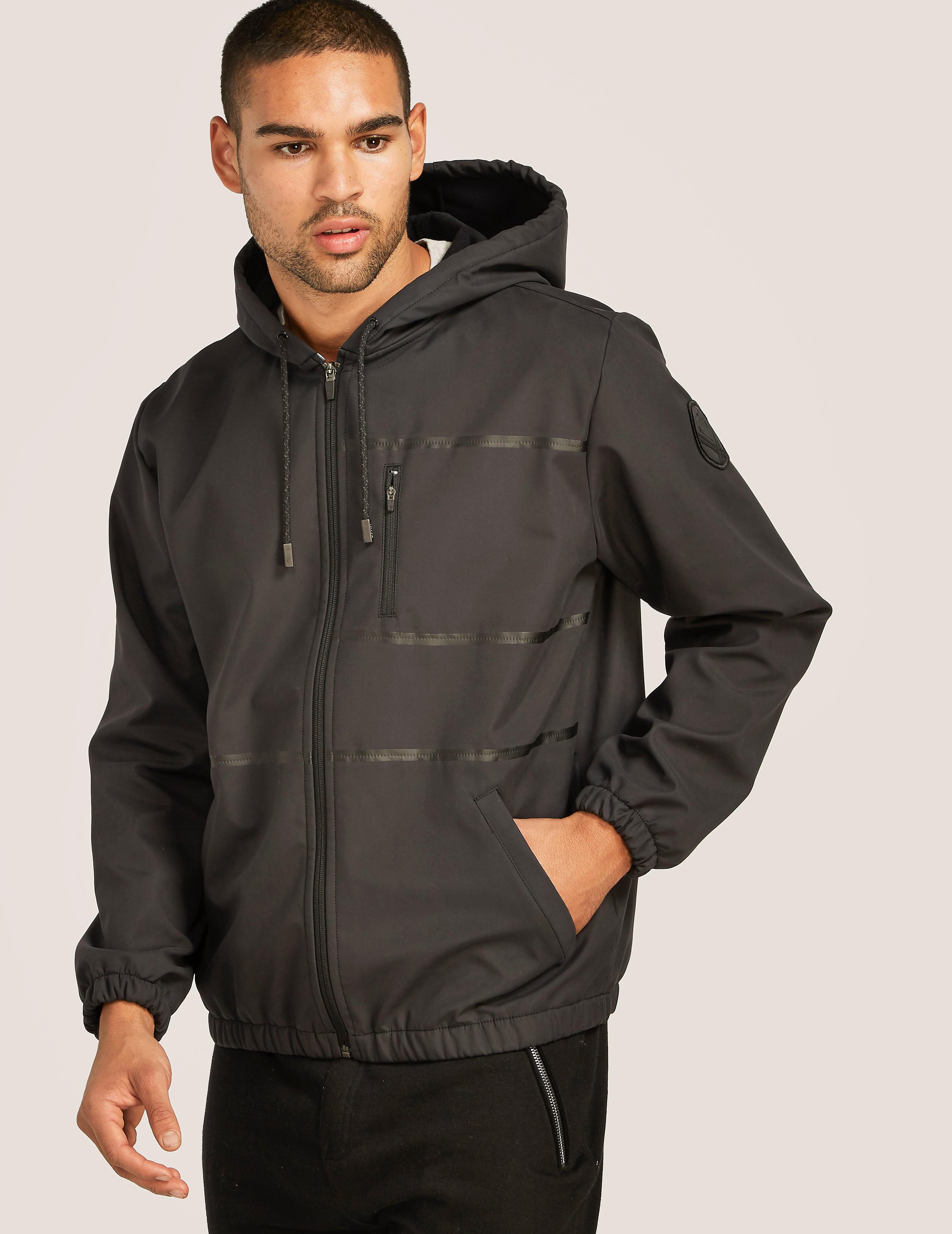 IUTER Inner Pile Zip Hood Jacket