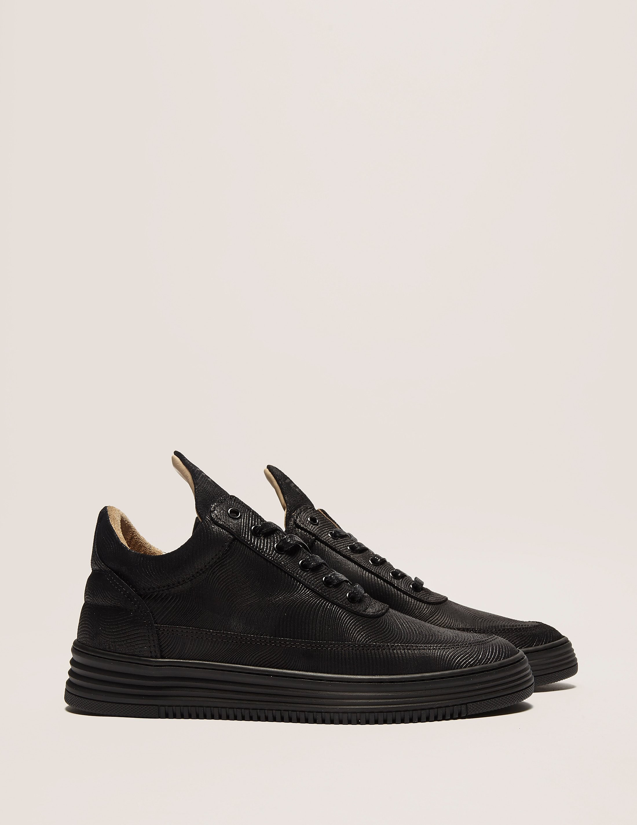 Filling Pieces Low Monotone Stripe Trainer