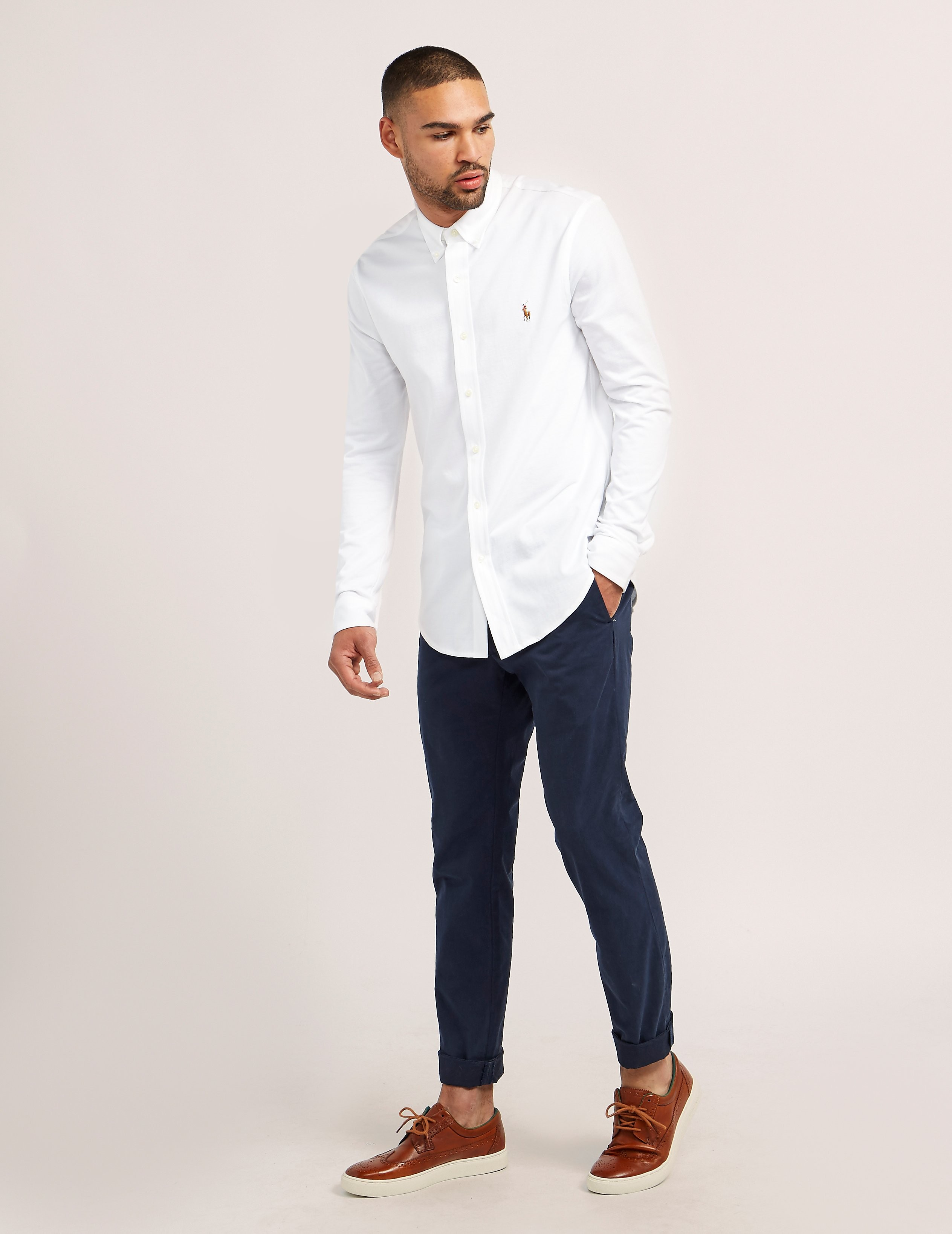 Polo Ralph Lauren Jersey Oxford Shirt