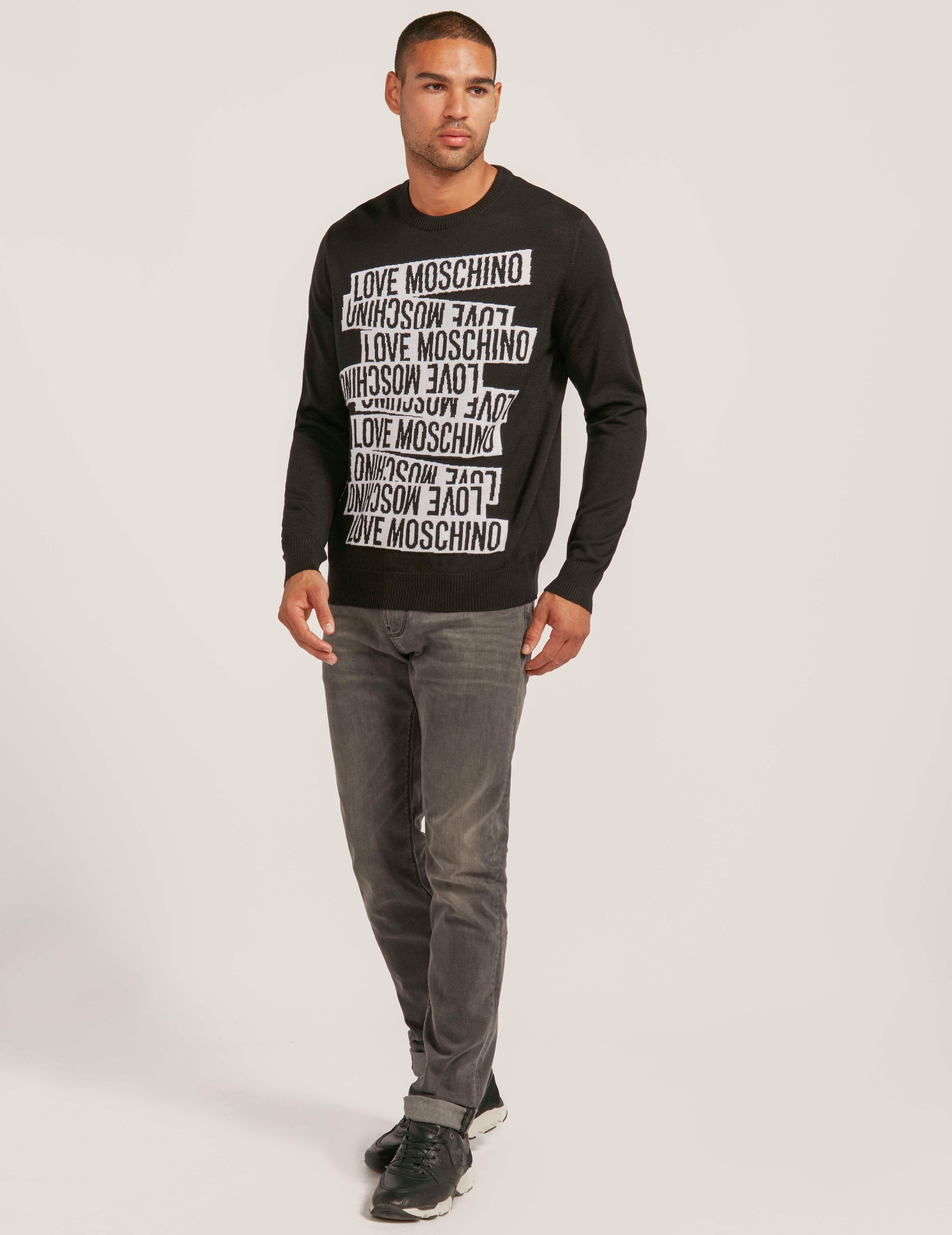 Love Moschino Banner Sweatshirt