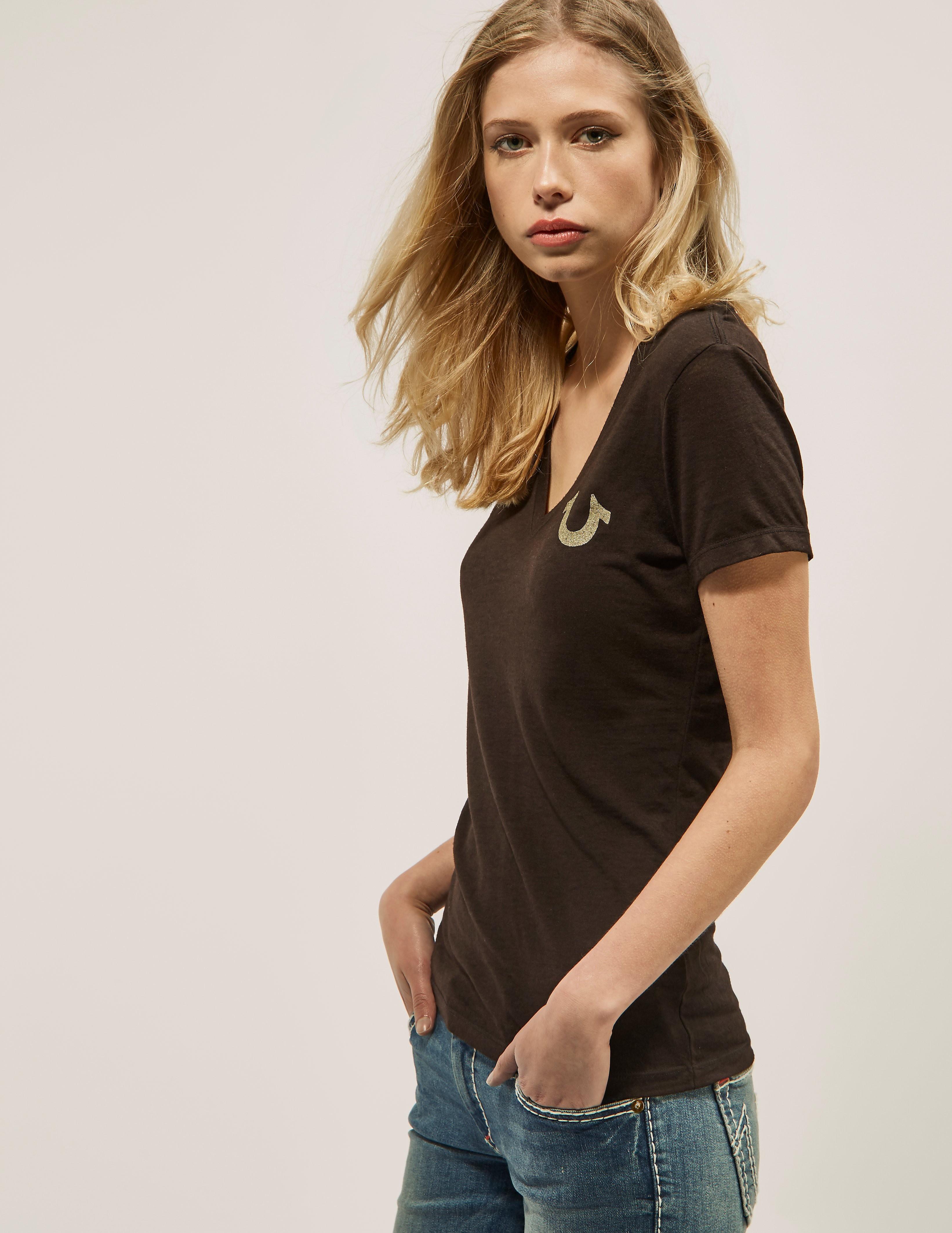 True Religion Vintage Buddah T-Shirt Slim