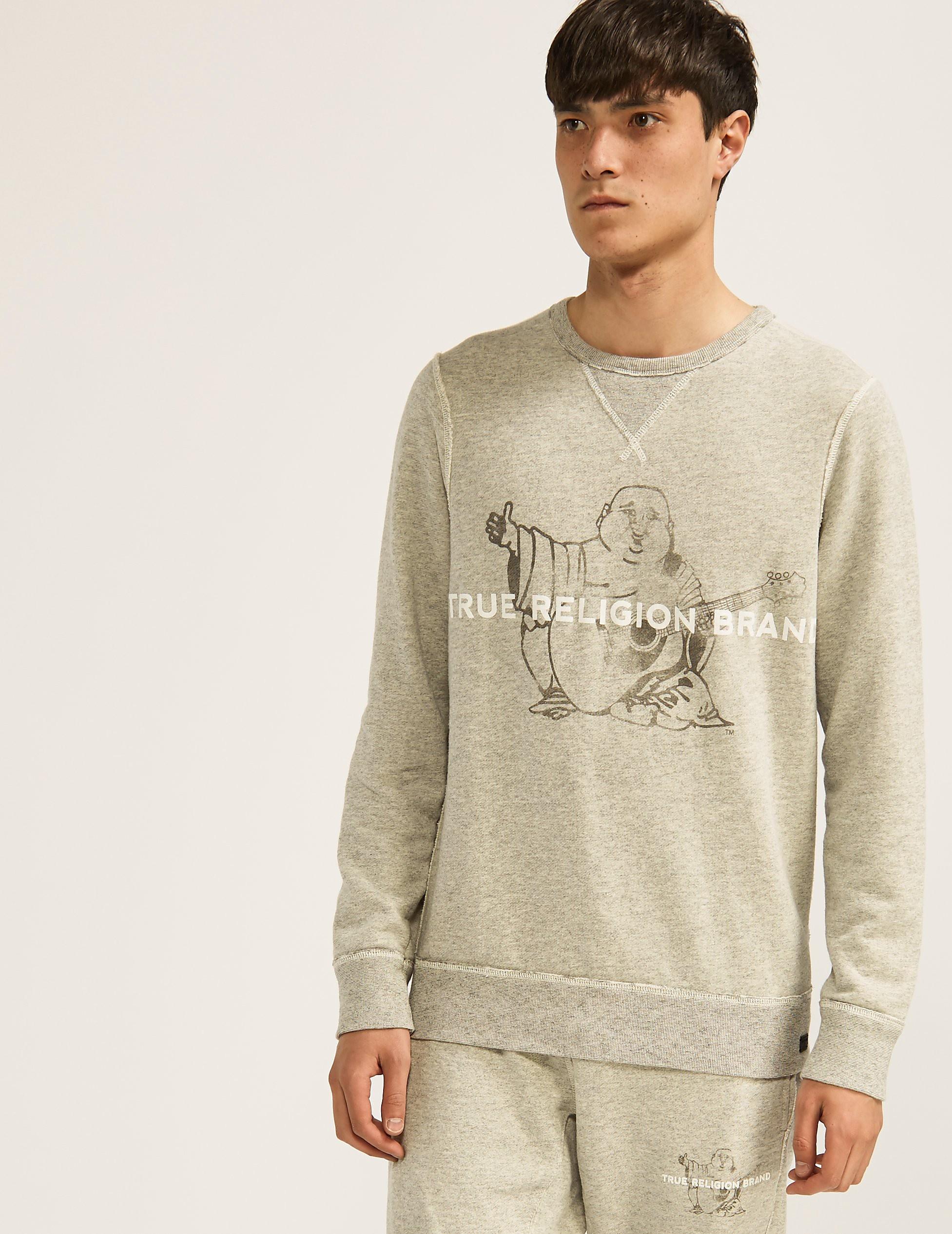 True Religion Buddah Crew Sweatshirt