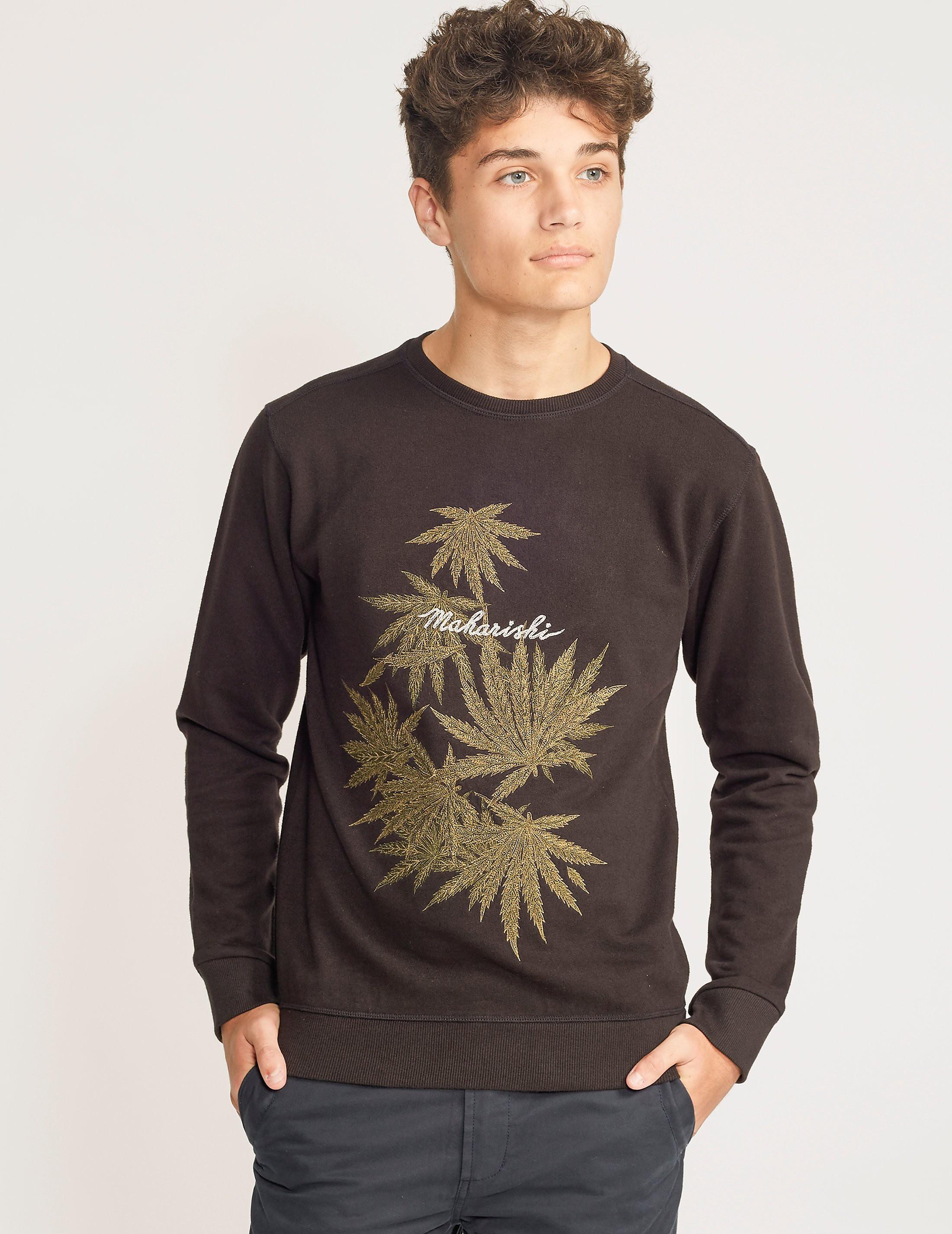Maharishi Leaf Sweatshirt