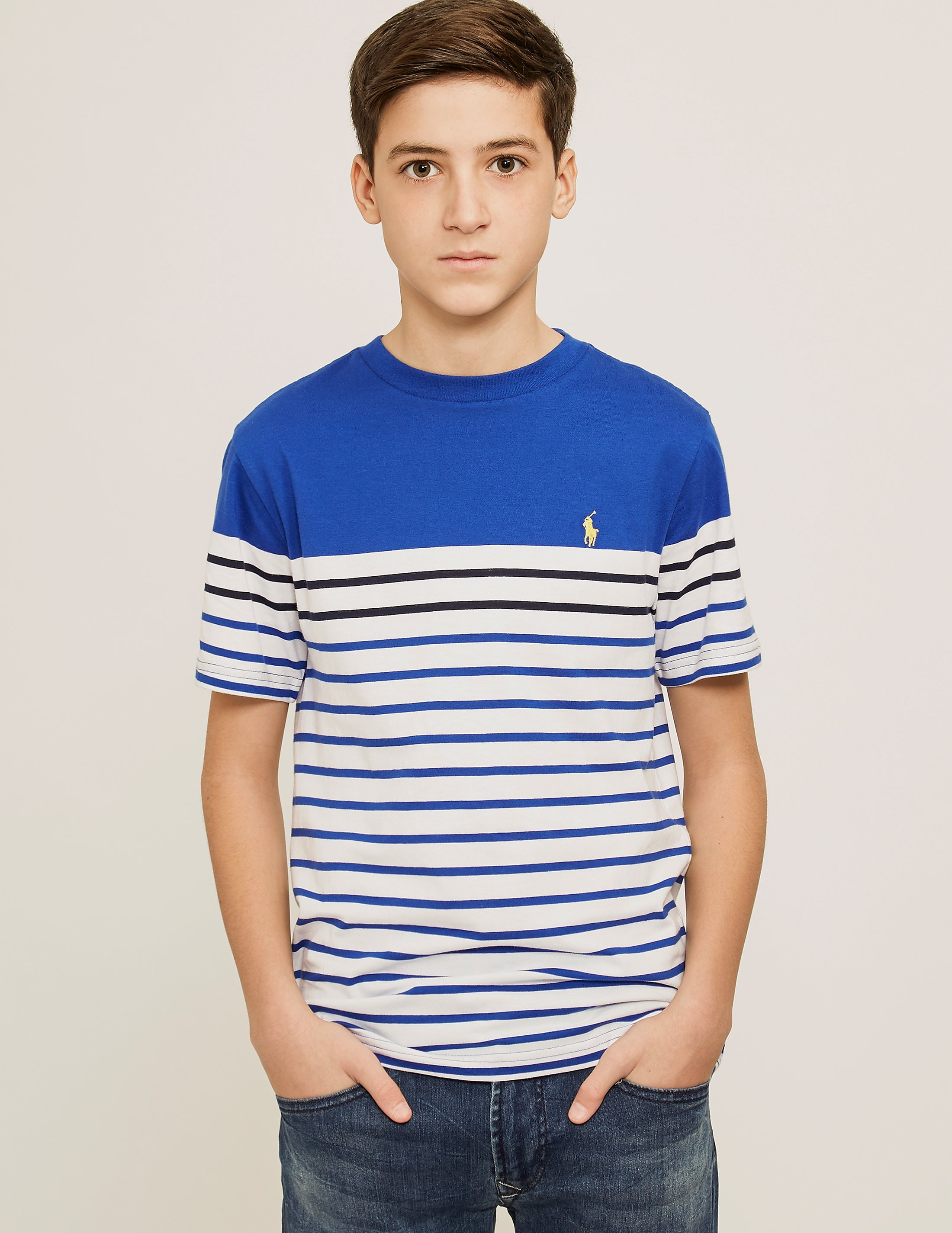 Polo Ralph Lauren Stripe Crew Short Sleeve T-Shirt
