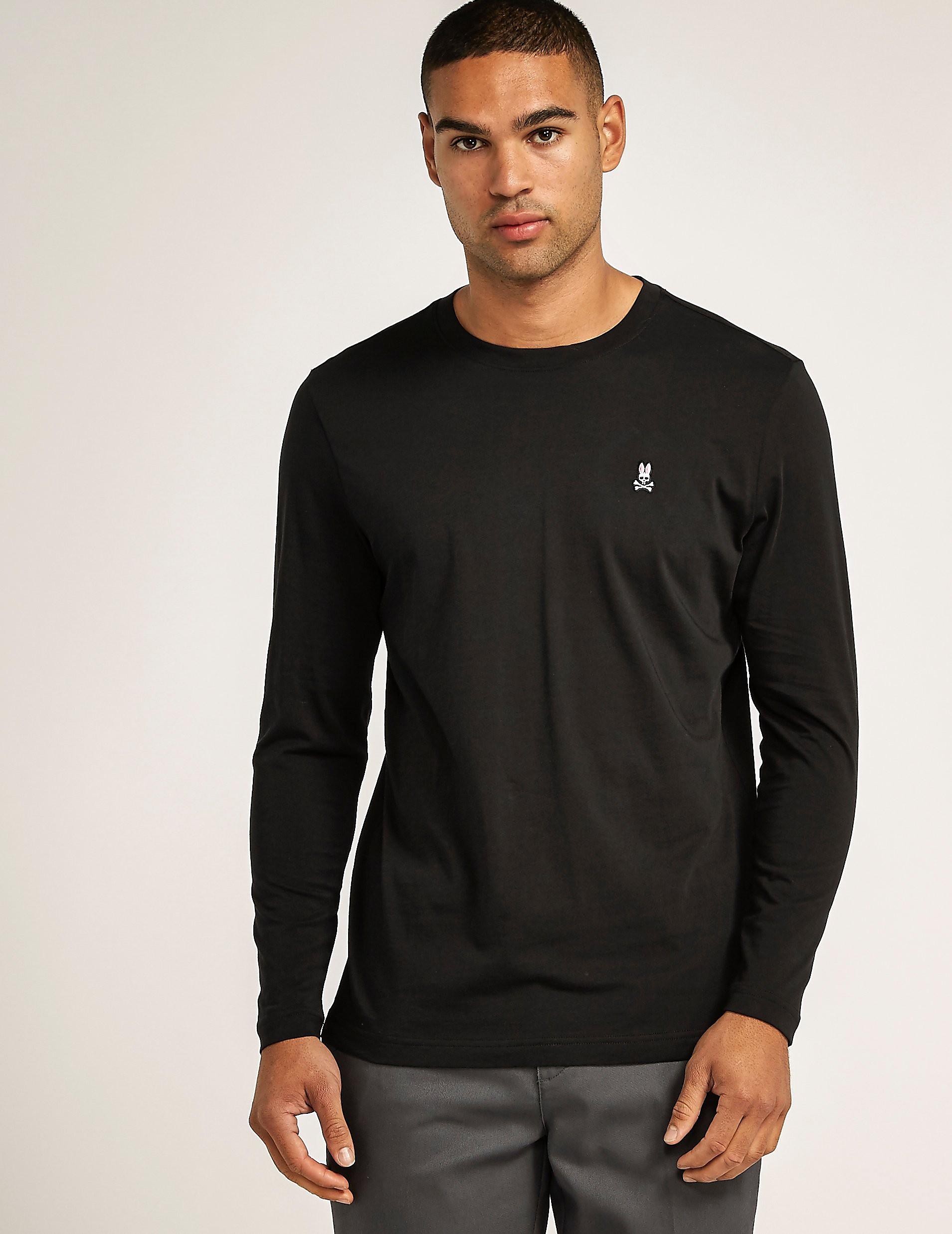 Psycho Bunny Long Sleeve Crew T-Shirt