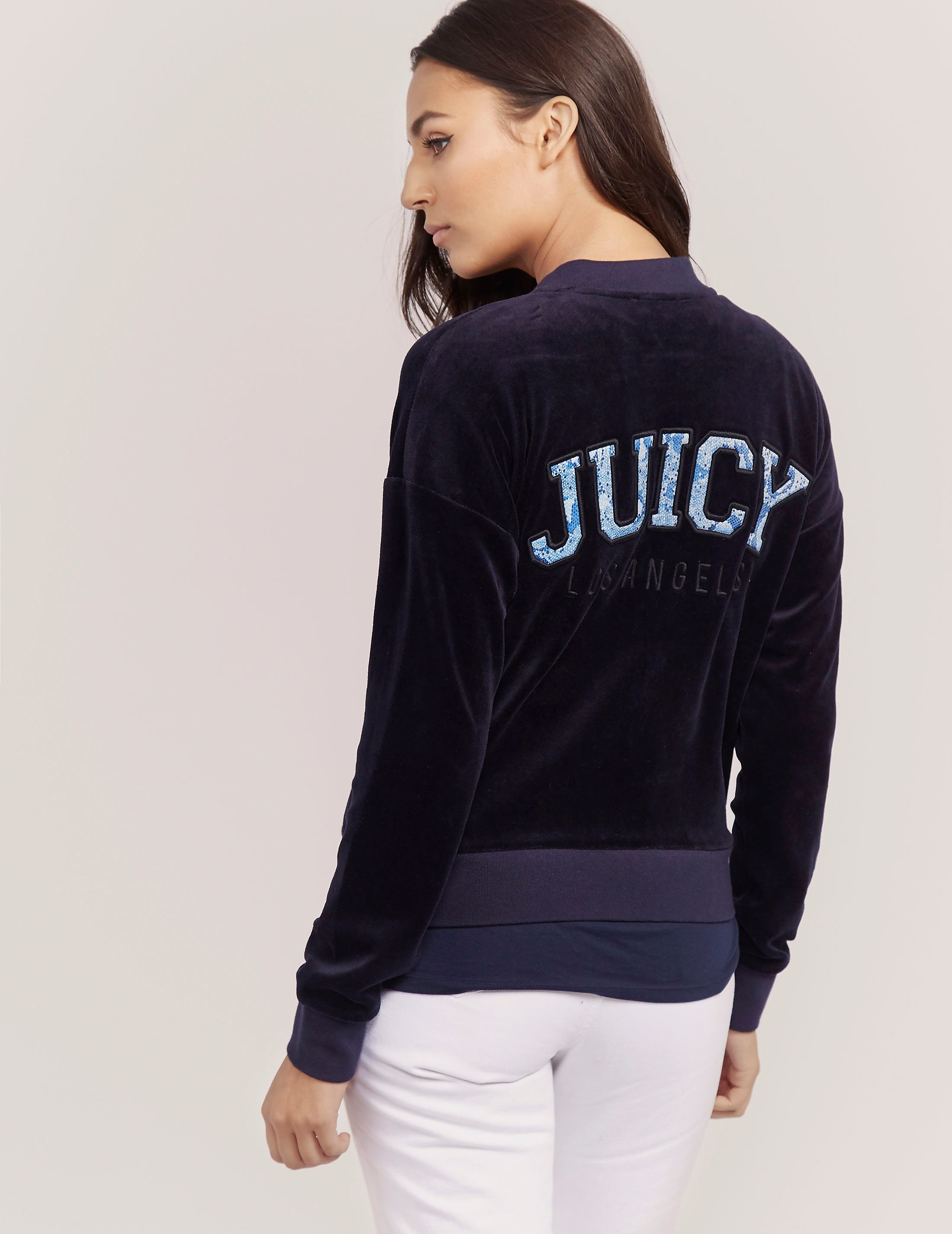 Juicy Couture Python Velour Hoody