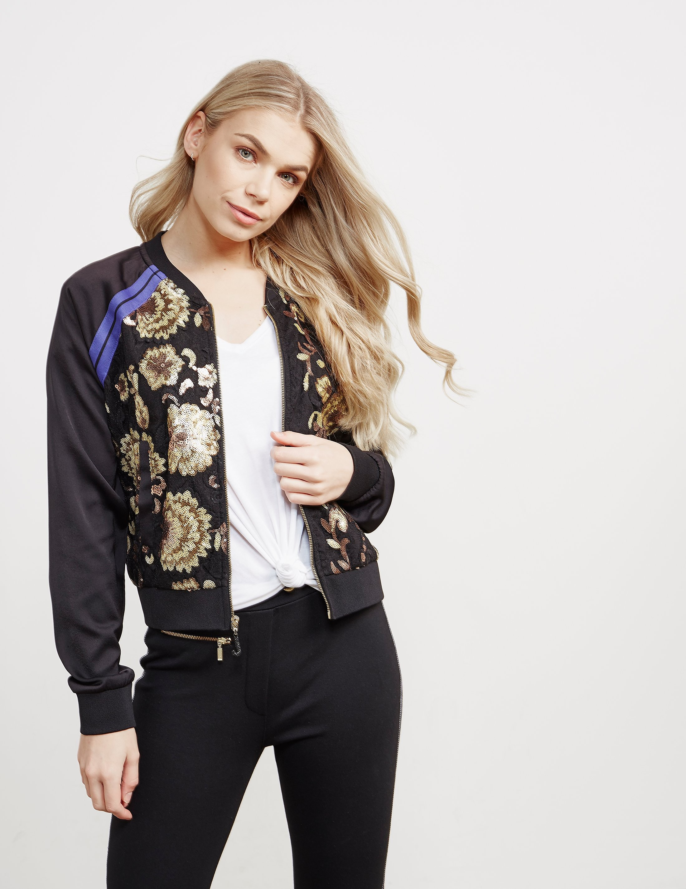 Juicy Couture Embroidered Bomber Jacket