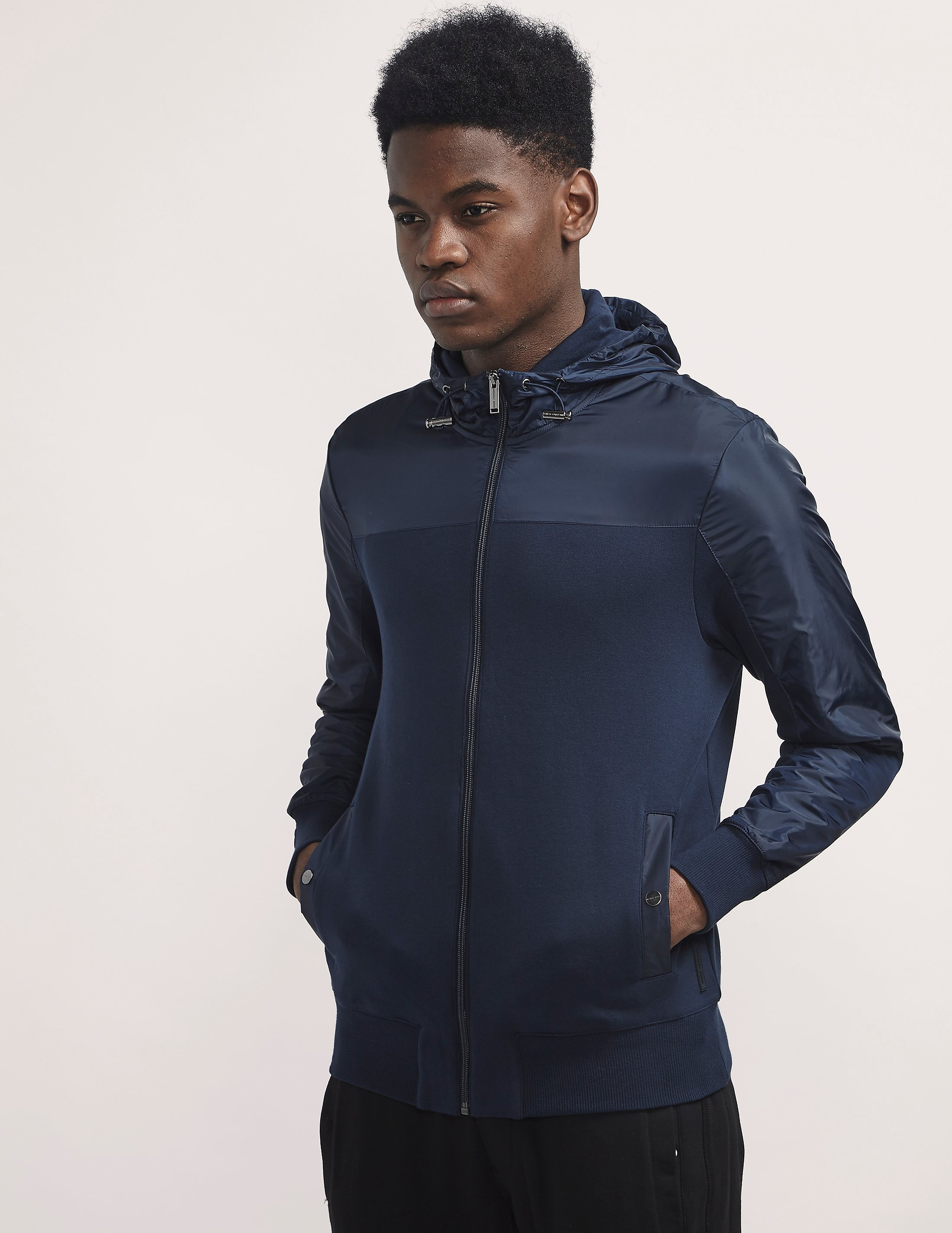 Michael Kors Nylon Panel Track Top