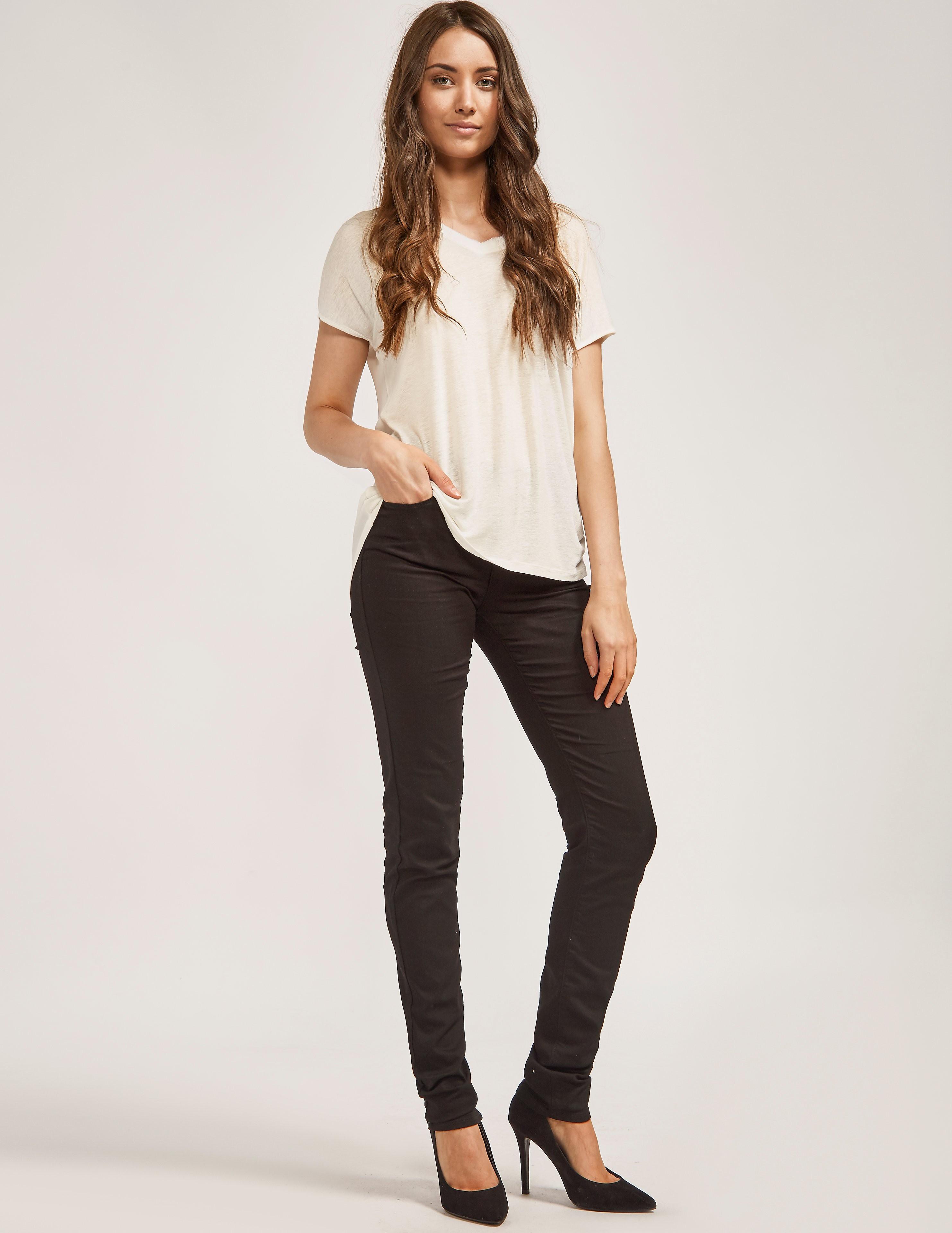 Armani Jeans High Waist Slim Leg