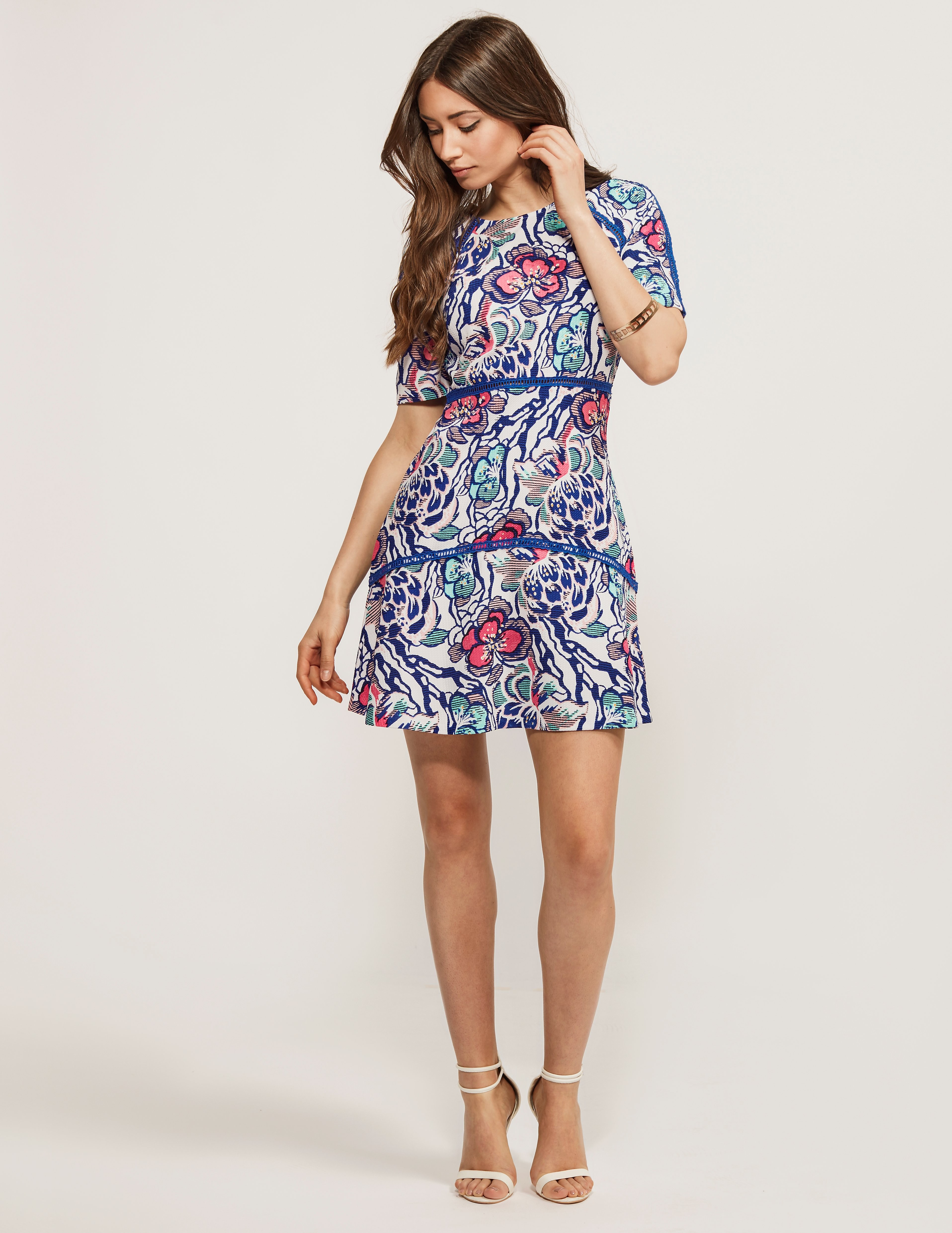Juicy Couture Jac Bella Donna Floral Dress