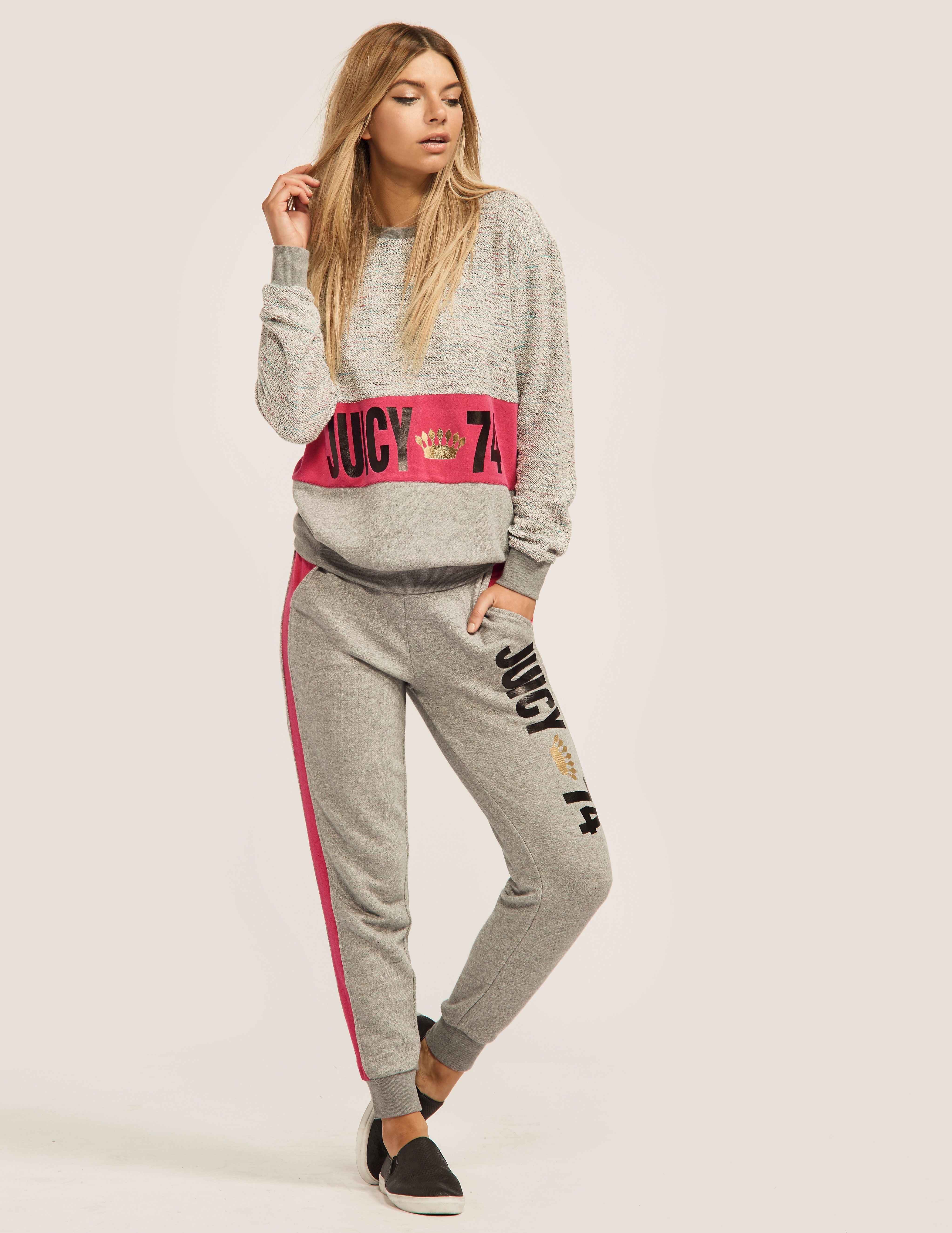 Juicy Couture French Terry Juicy 74 Pant