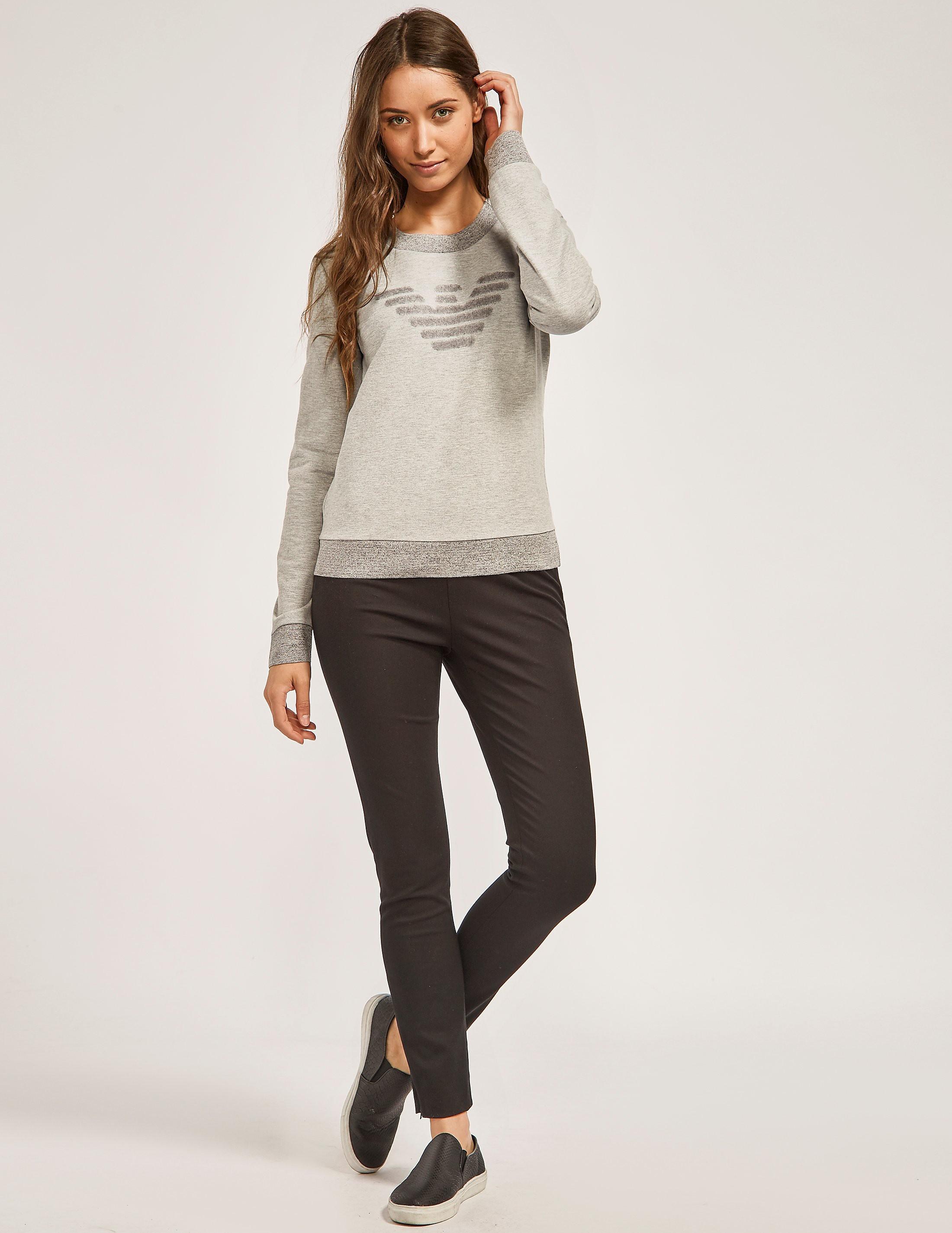Armani Jeans Crew Neck Logo Ssweatshirt