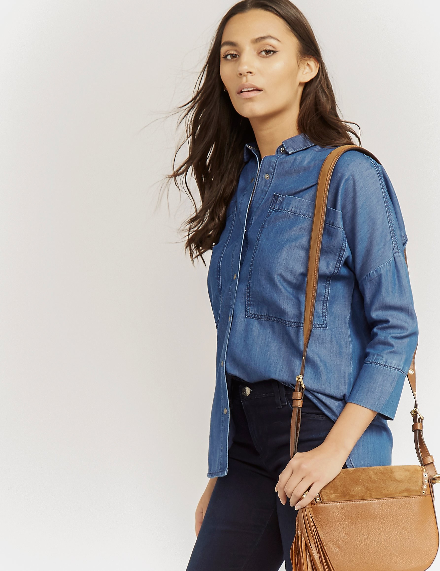 Barbour International Hopnel Denim Shirt