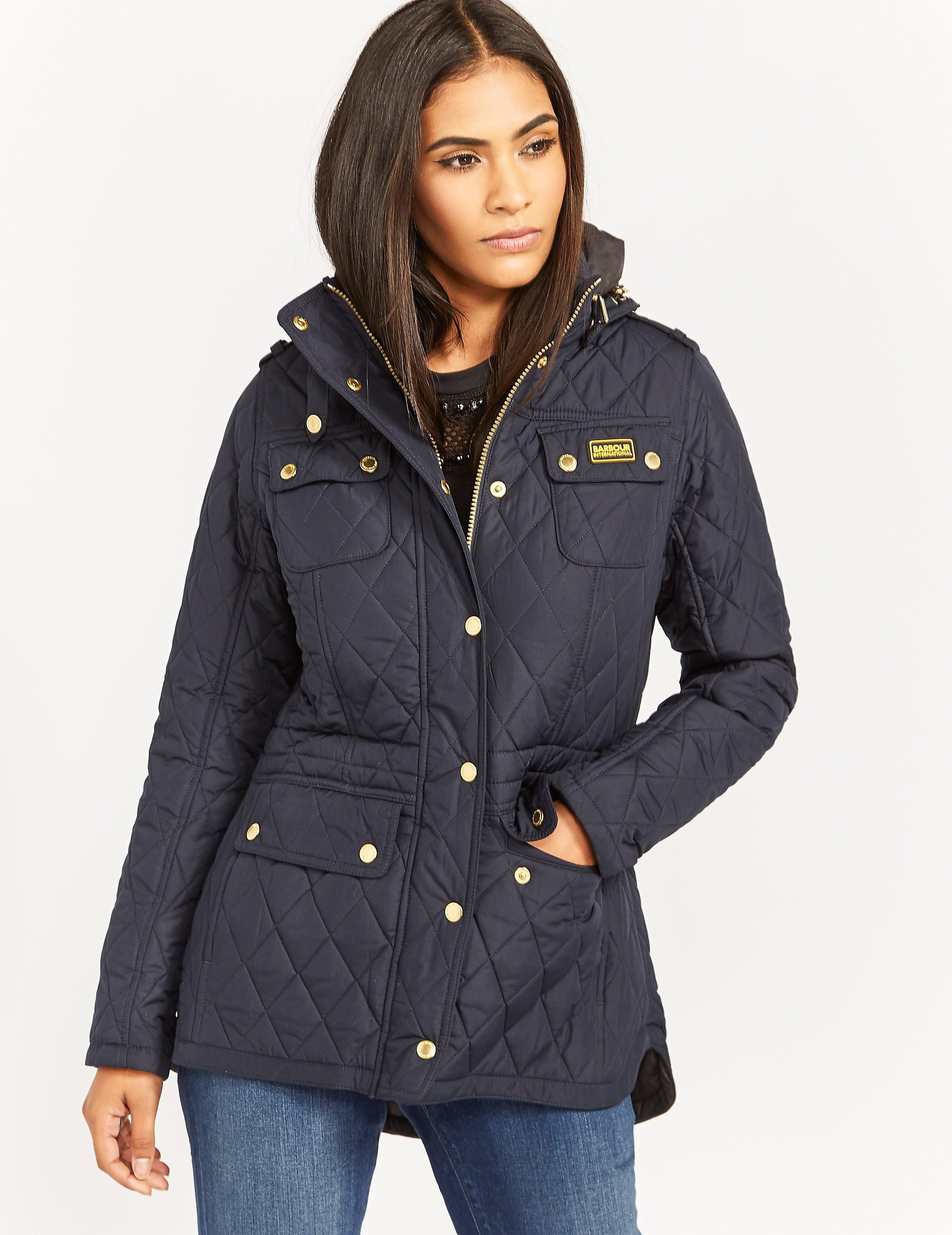 Barbour International Absorber Parka Jacket