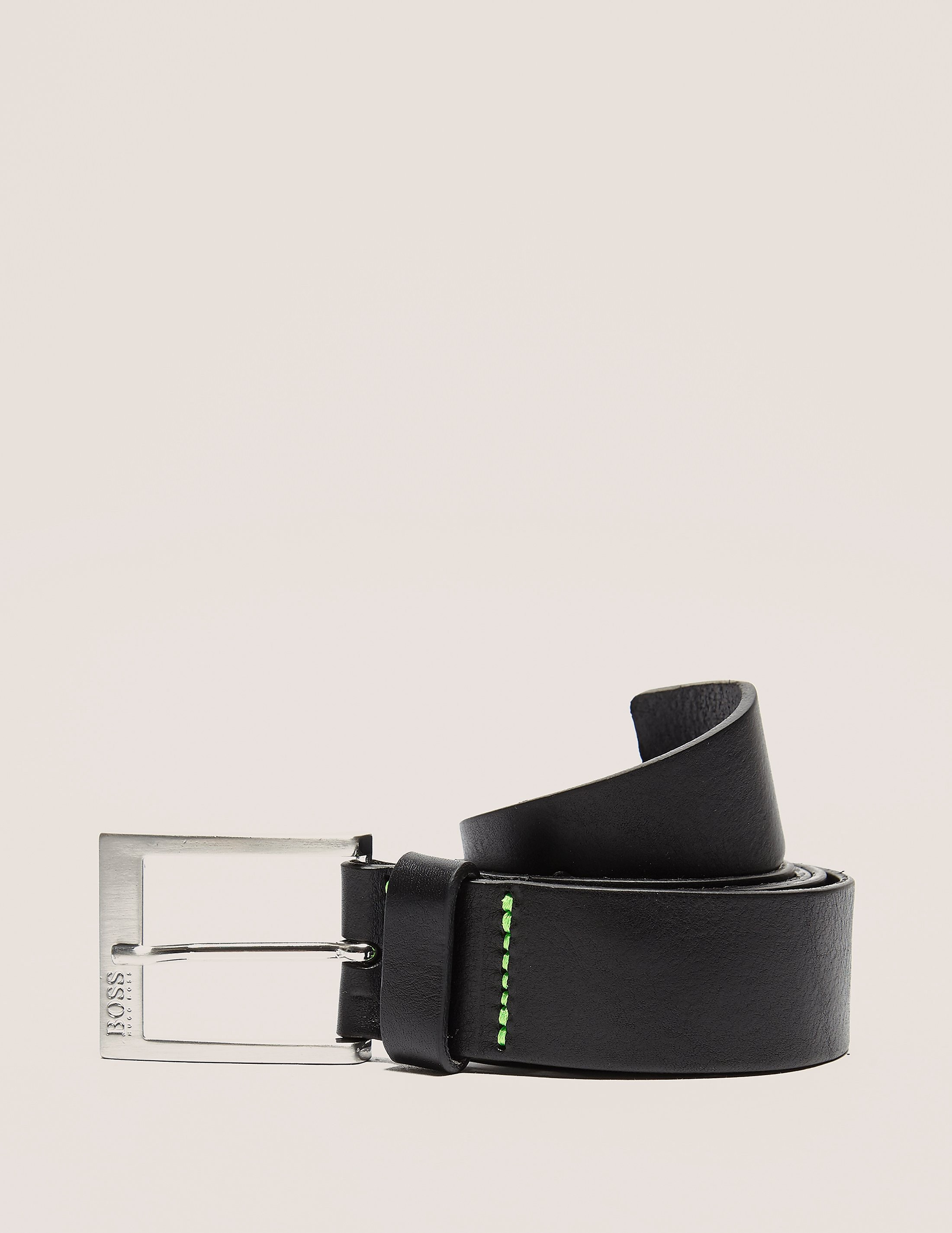 BOSS Green Tex Logo Belt