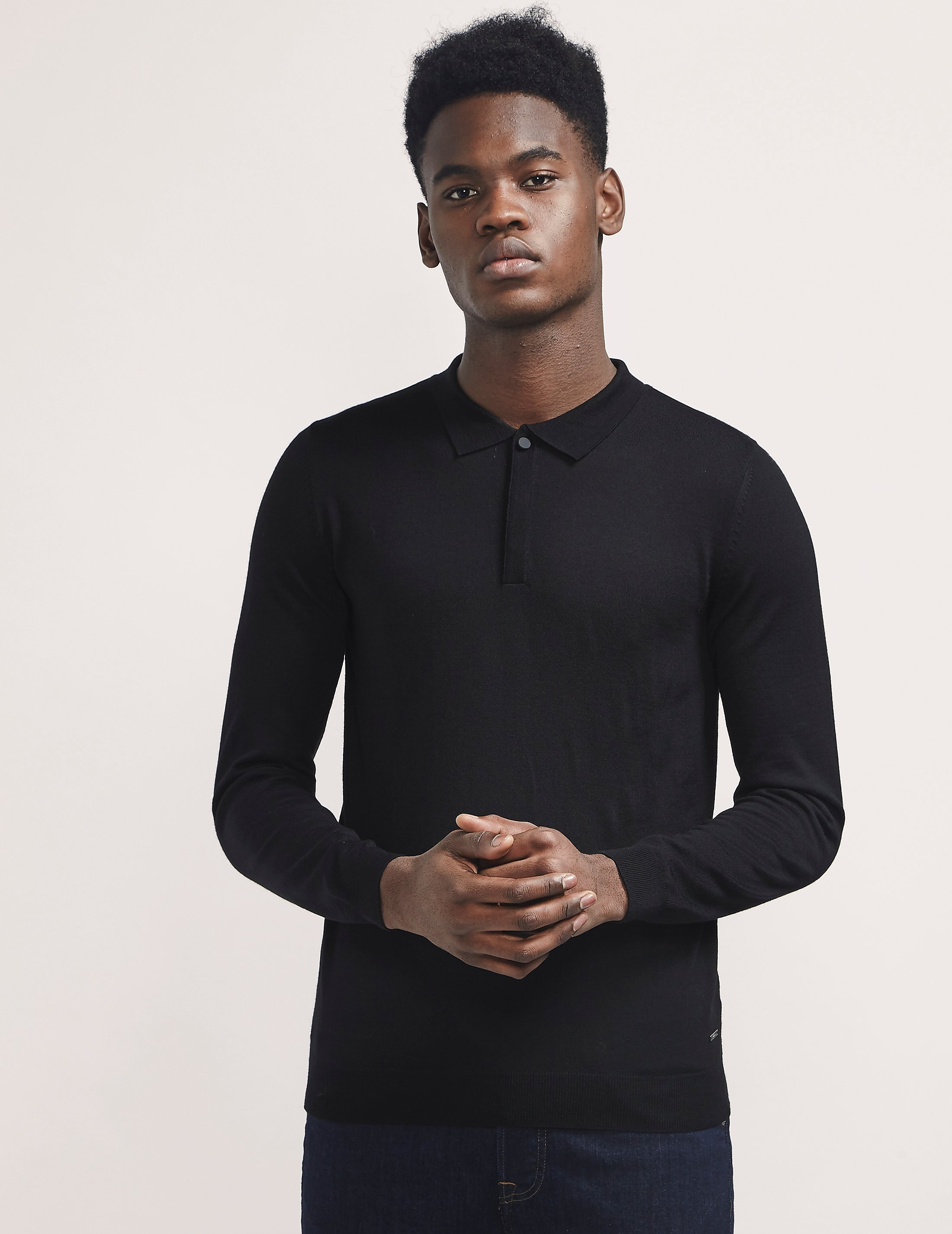 BOSS Iden Knitted Polo