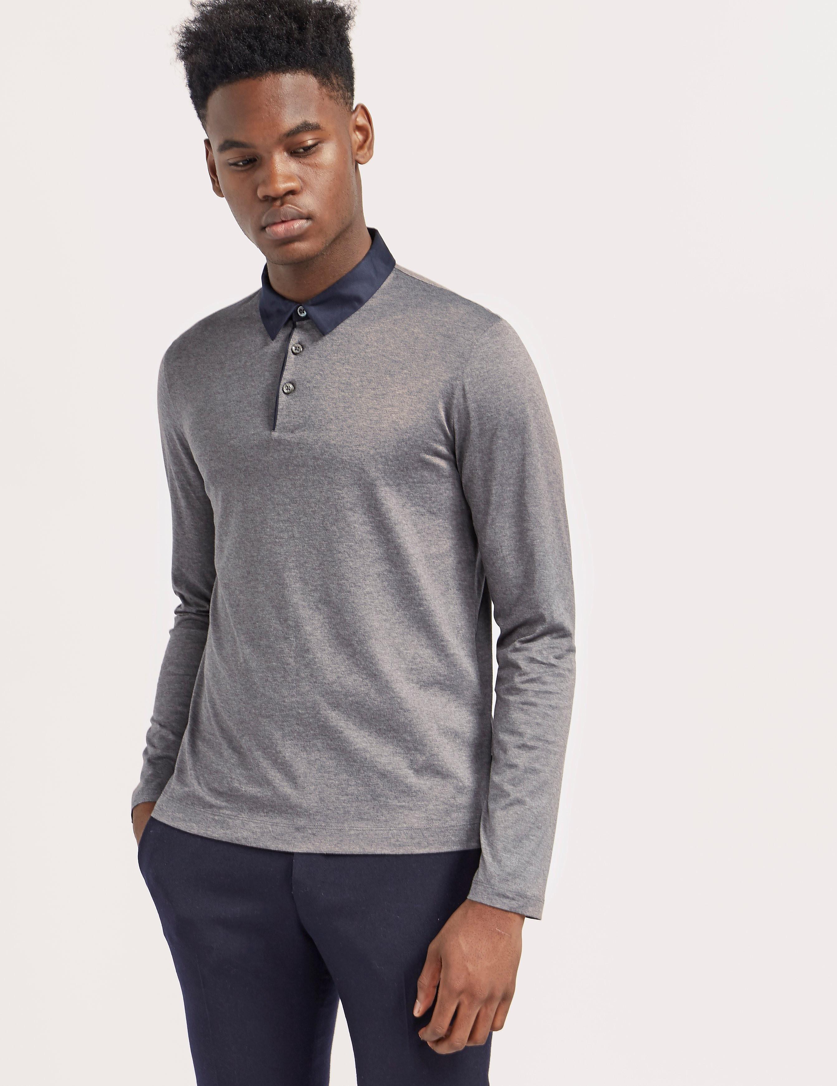 BOSS Prall 05 Long Sleeve Polo Shirt