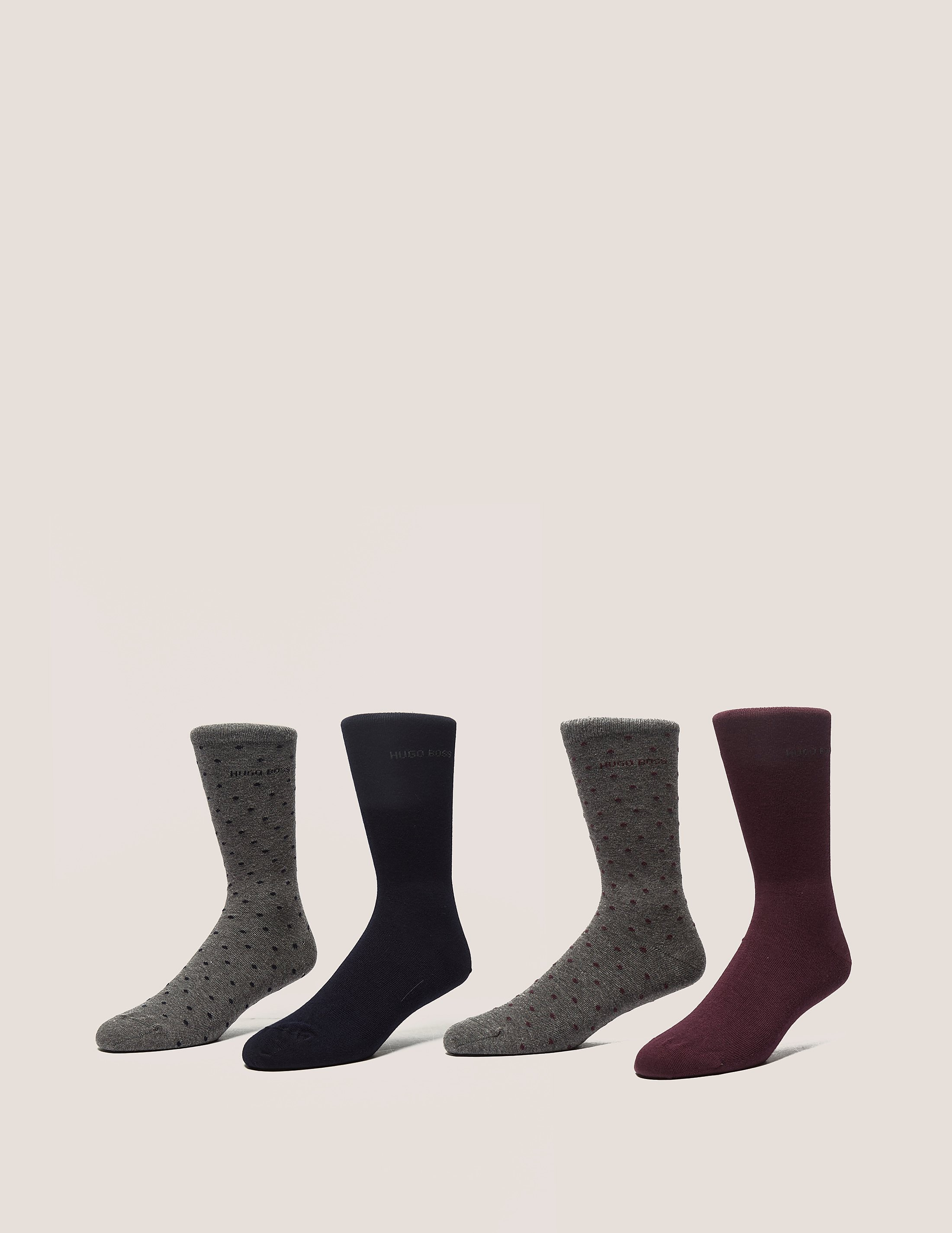 BOSS 4 Pack Socks