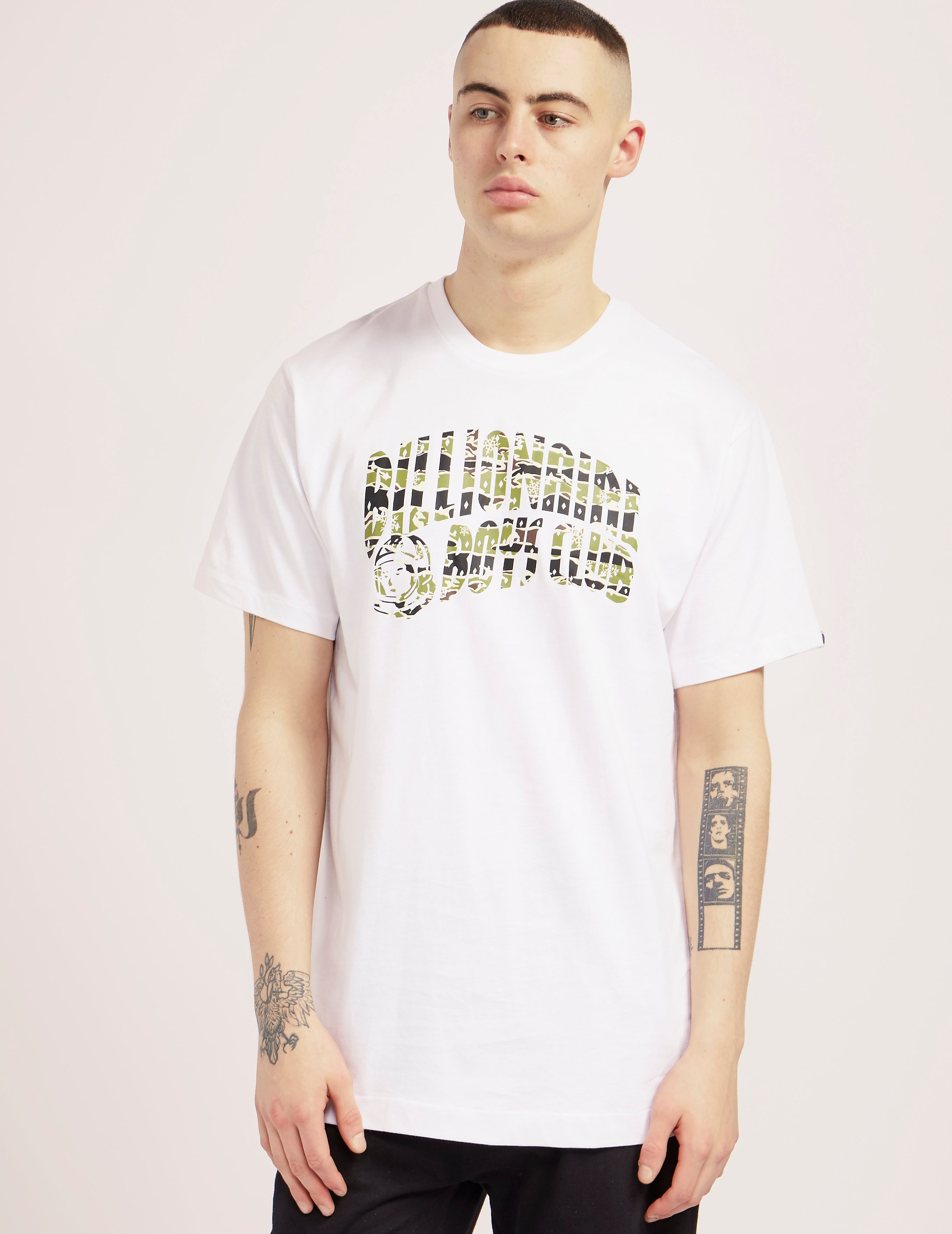 Billionaire Boys Club Camo Arch Short Sleeve T-Shirt