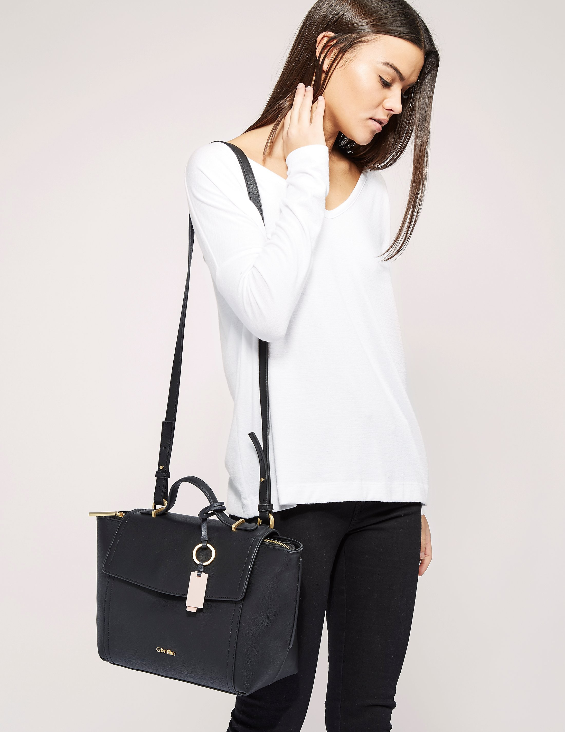 Calvin Klein Top Handle Satchel