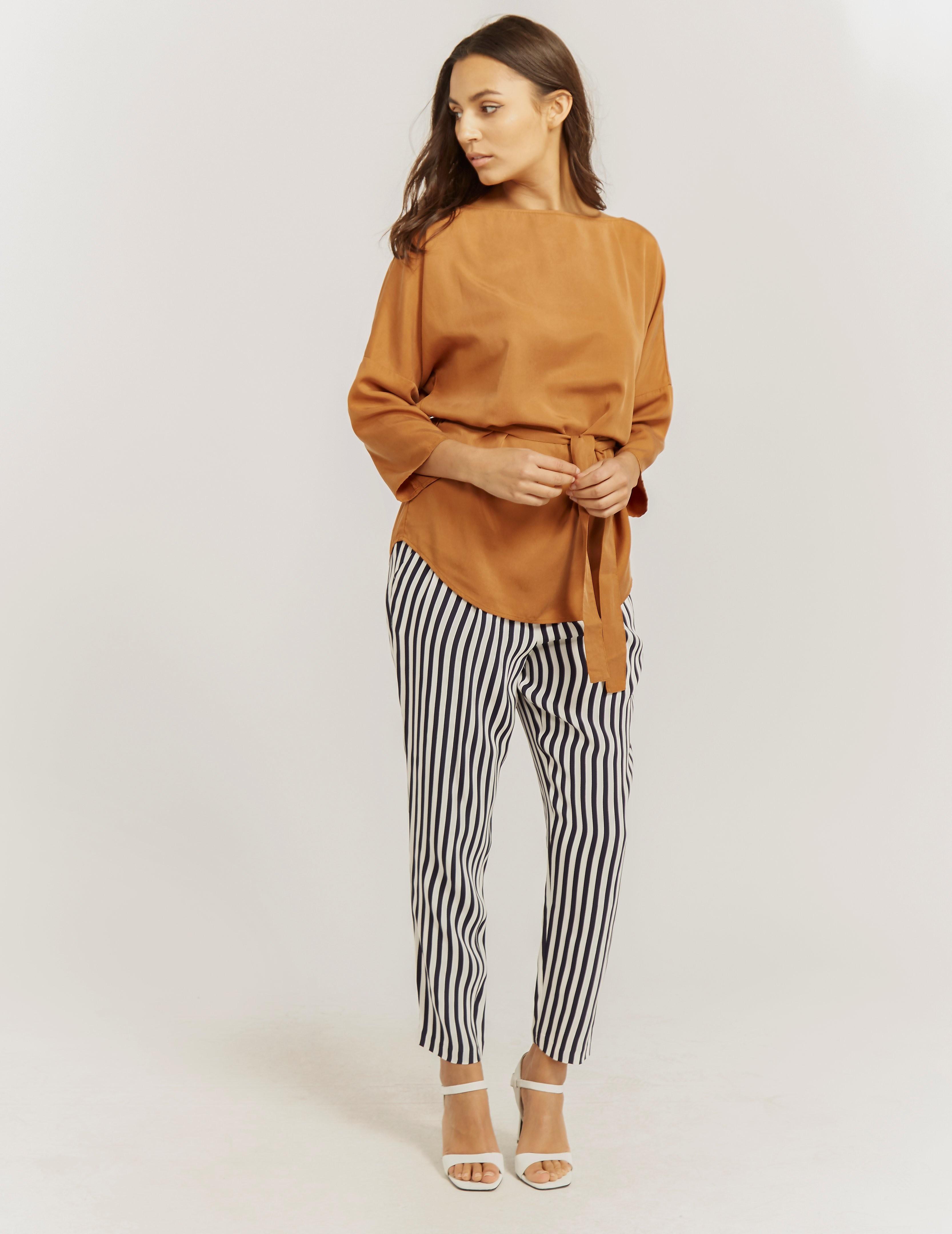 BOSS Orange Salanja Stripe Pant