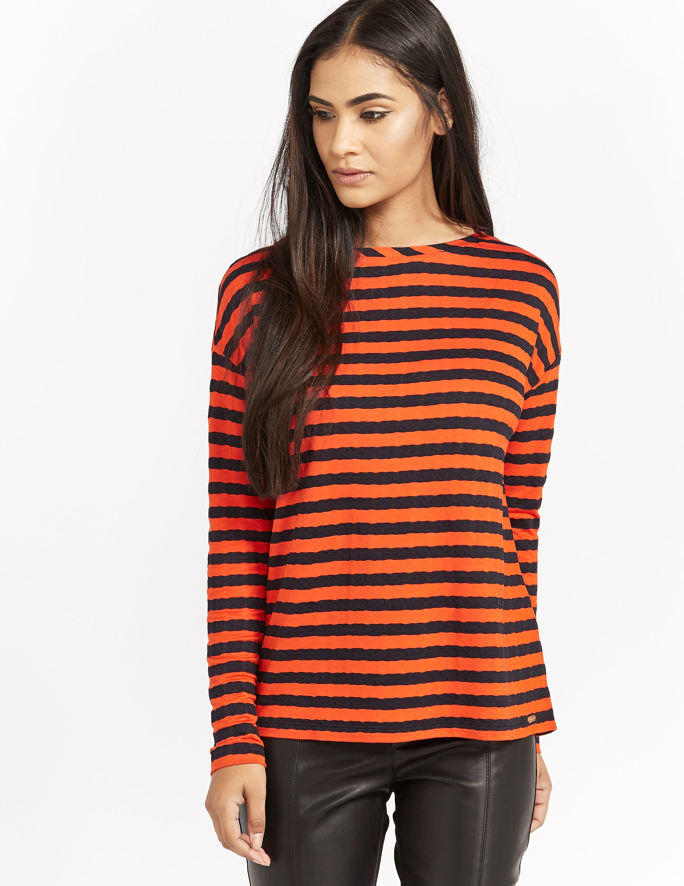 BOSS Orange Tibow Stripe Top