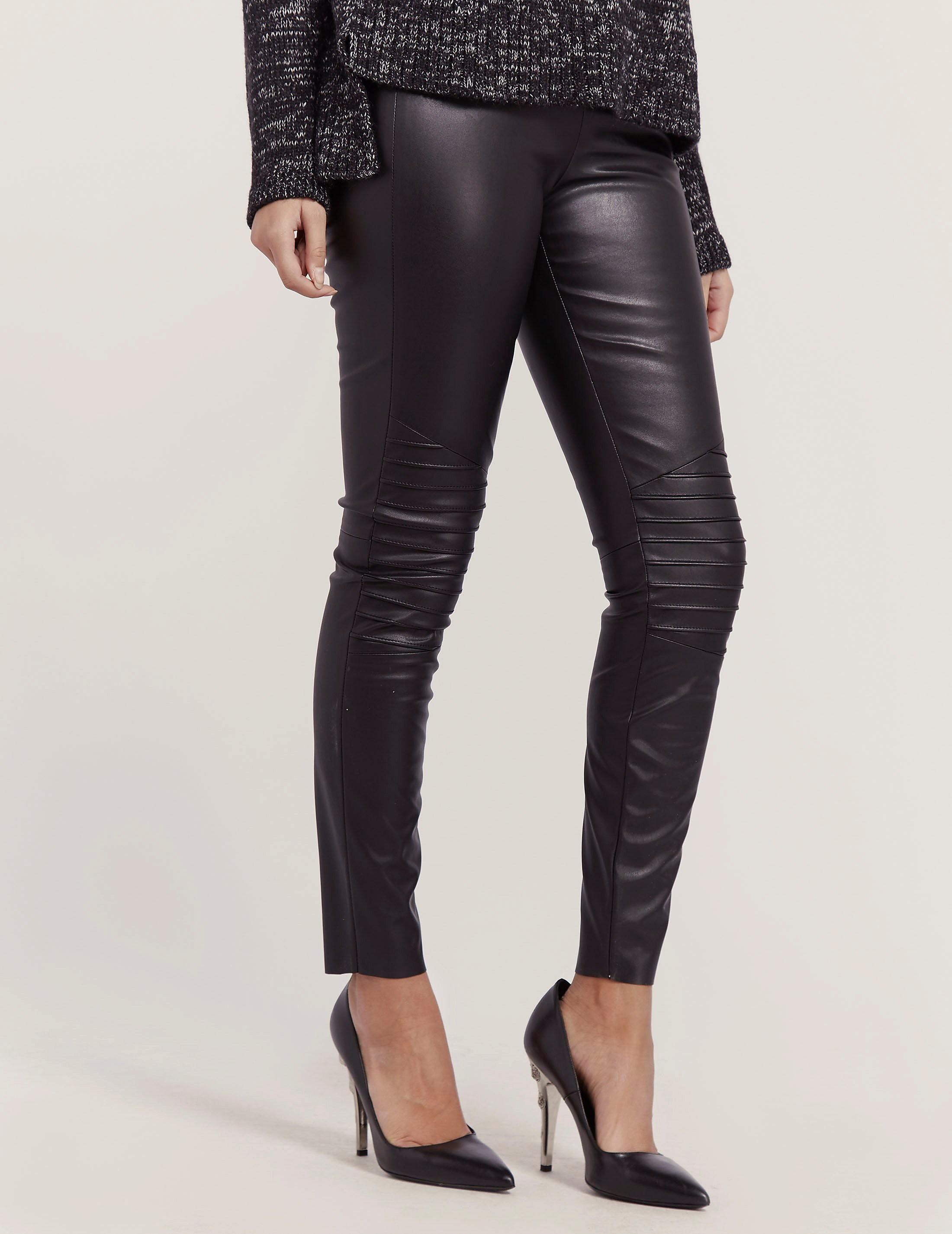 BOSS Orange Saledy Leather Pant